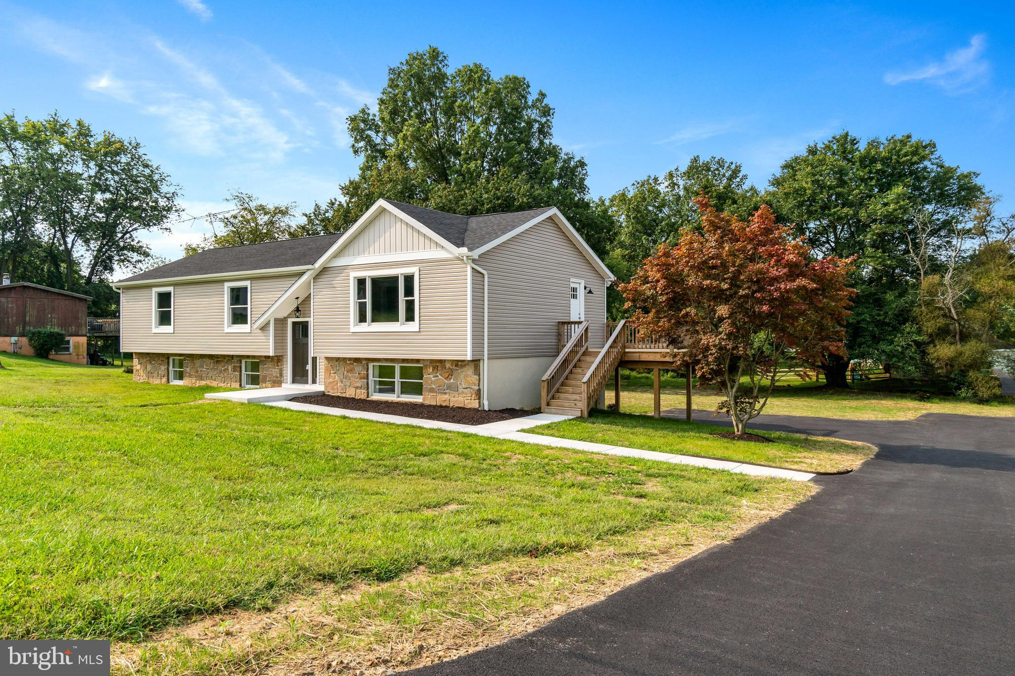 Completely renovated inside and out with upgrades galore!  All new appliances, two new full bathroom