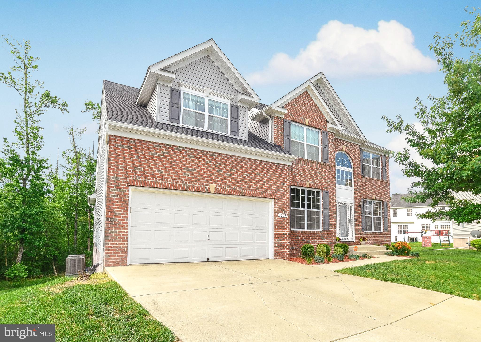 """***OFFER DEADLINE*** Monday June 14, 2021 at 3pm Everything you're looking for in a home!!! Gorgeous single family home, model like home less than 10 years young, 5 bedrooms, 3.5 baths, 3 stories / 4,800 sq ft MOVE IN READY!! Kitchen perfect for hosting w/island, range top stove and double wall ovens. Spacious sun room leads to new deck. Private office w/dual desk & built-ins. Family Rm, formal dining, living Rm, owners suite w/adjacent custom walk-in closet. You will absolutely love the fully finished, spacious basement w/hardwood floors.  Includes projector, 120"""" screen and 6 in ceiling surround sound speakers, bedroom w/walk-in closet, full bath & exercise room. Leads to big back yard / below deck patio. ROOF, DECK & PATIO less than 2 years old. HARDWOOD throughout, except bedrooms and bathrooms. Basement is very spacious with open style recreation room perfect for entertaining or relaxing, exercise room and plenty of storage.  ***OFFER DEADLINE*** Monday June 14, 2021 at 3pm"""