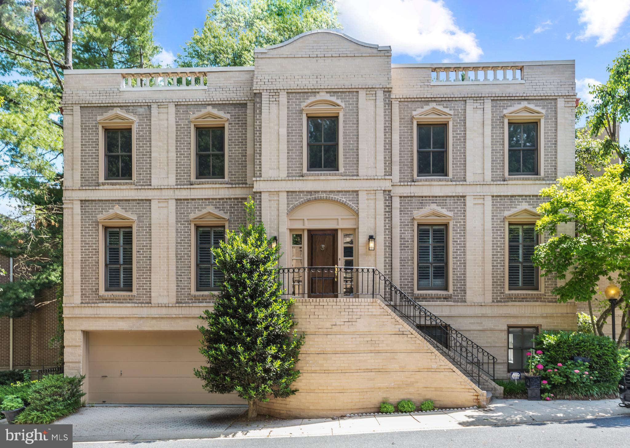 A rare offering, 4711 Foxhall Crescent NW is the epitome of stately elegance, situated within the pr