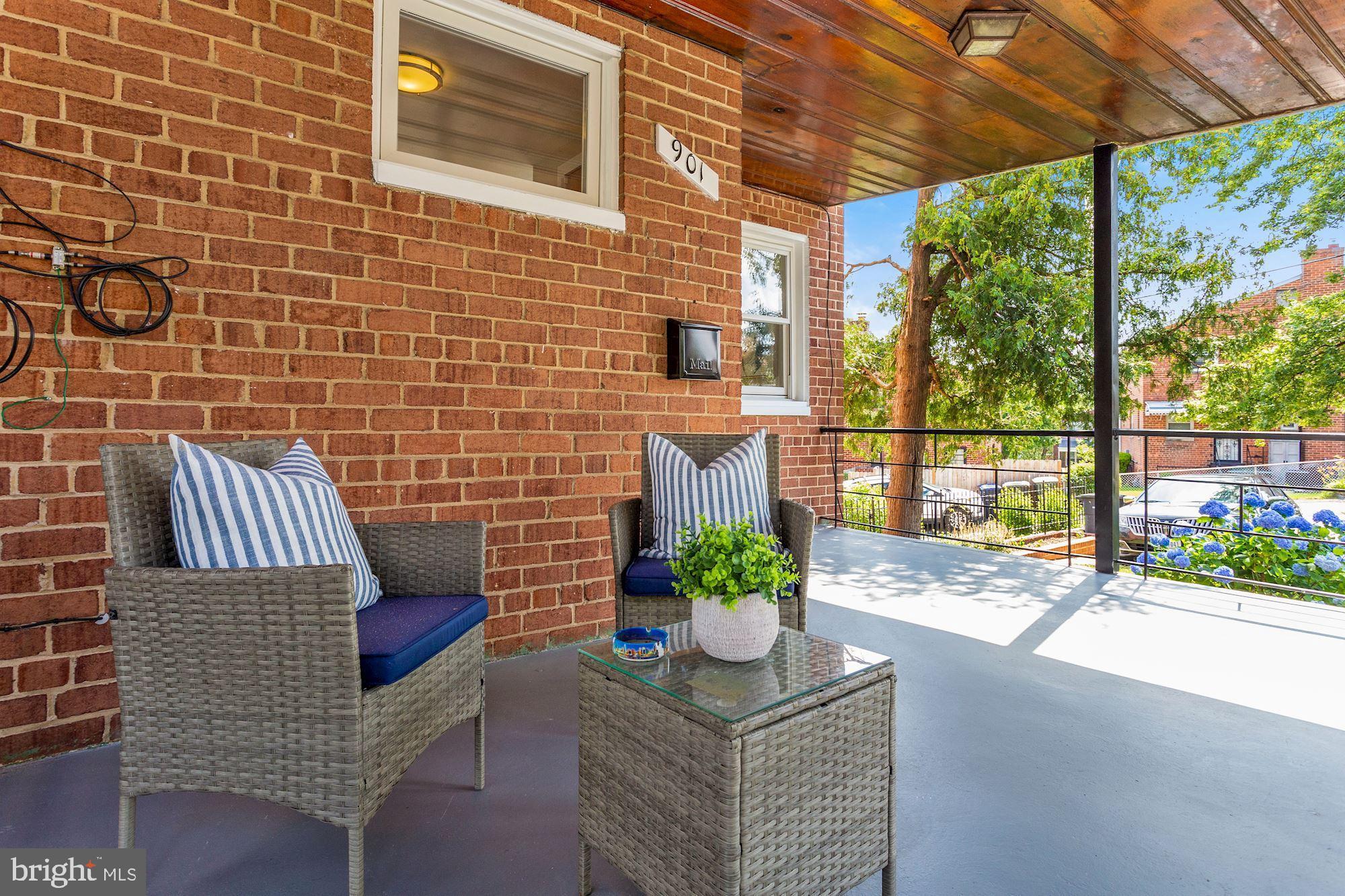 Enjoy indoor and outdoor living in this updated 3 bedroom, 2.5 bathroom semi-detached home on a corn