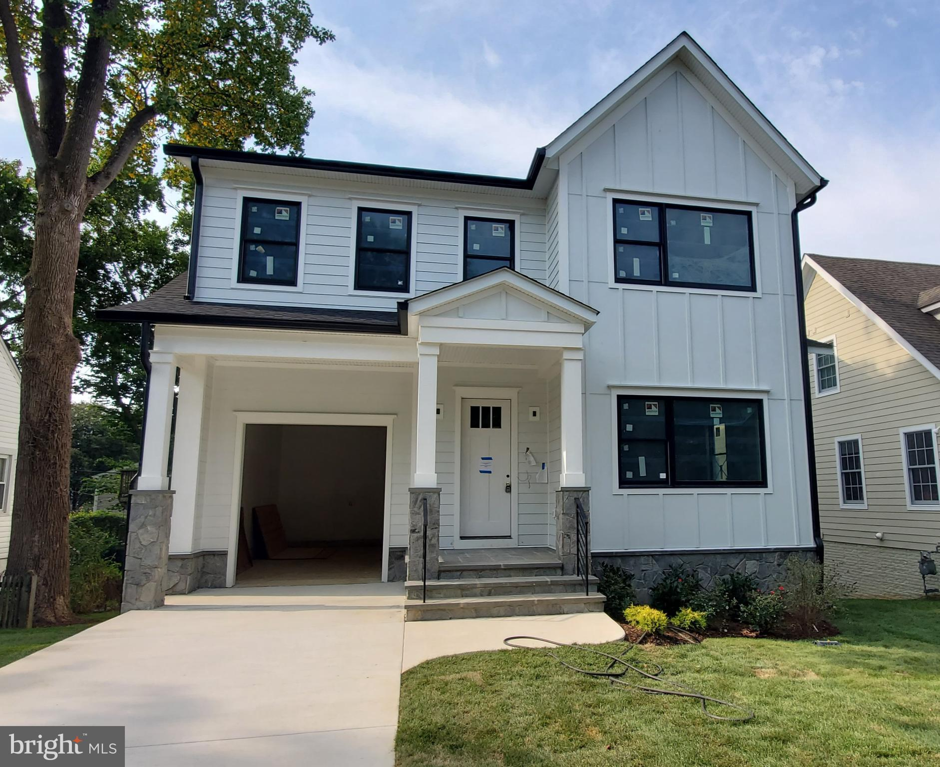 Coming Soon with an expected September delivery for this custom craftsman in Arlington's Waycroft-Wo