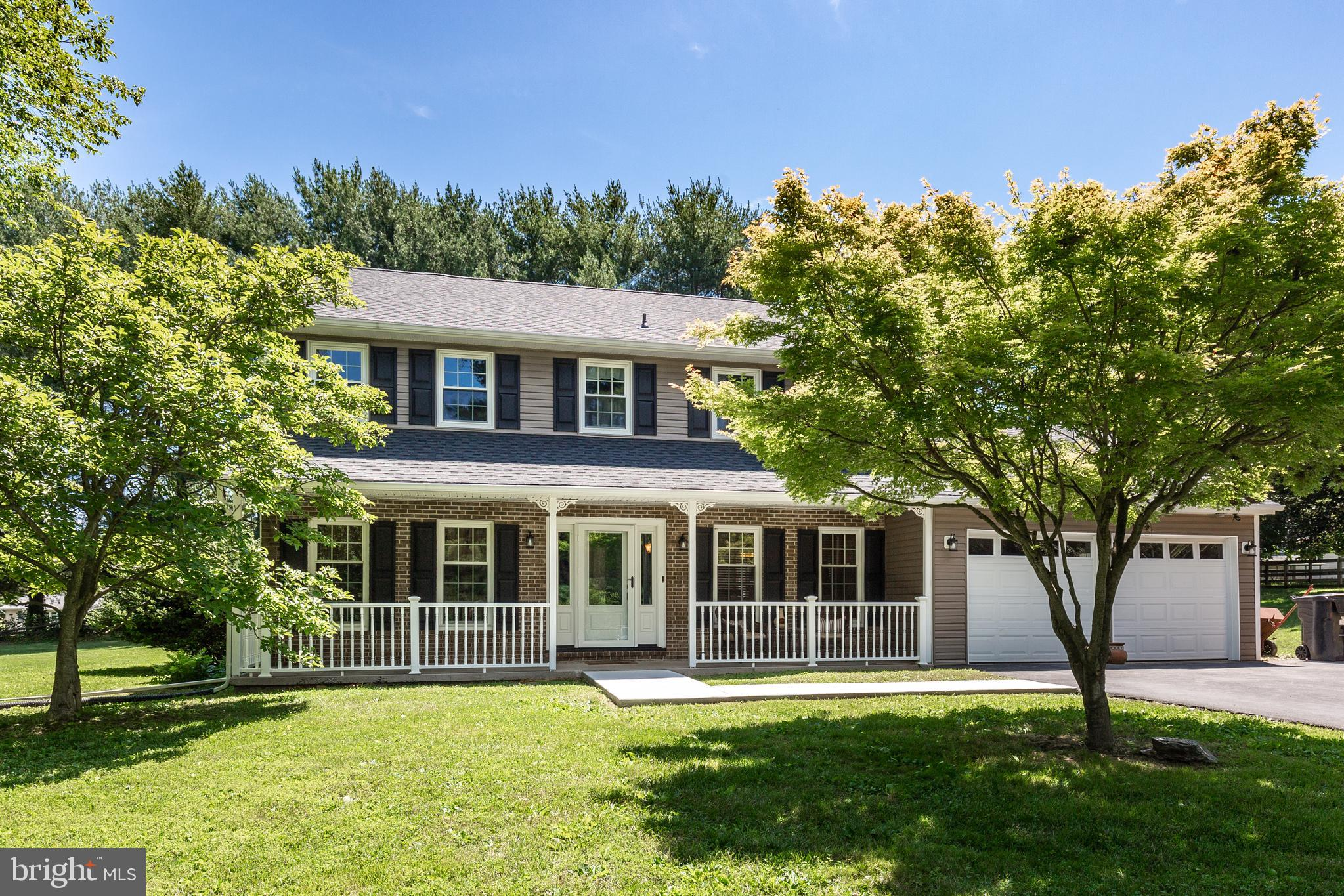 This awesome home on over an acre, in sought out Sykesville community, is looking for new owners! Mi