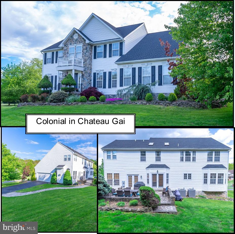 Gorgeous colonial located west of I 81 but less than 5 minutes for commuting.  Main level has foyer,
