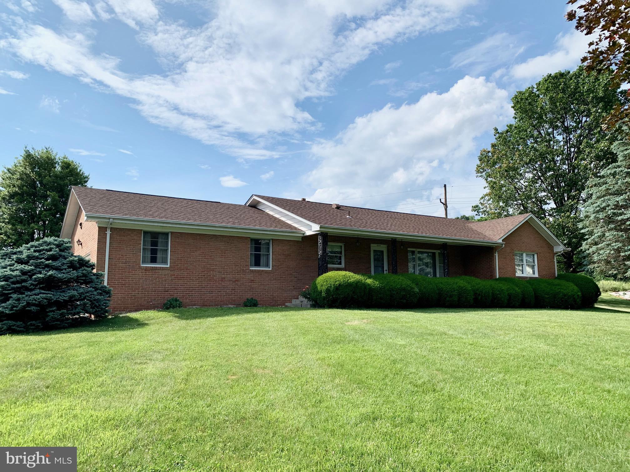 First time on the market!  Lovingly maintained all-brick Ranch home on one of the largest parcels in