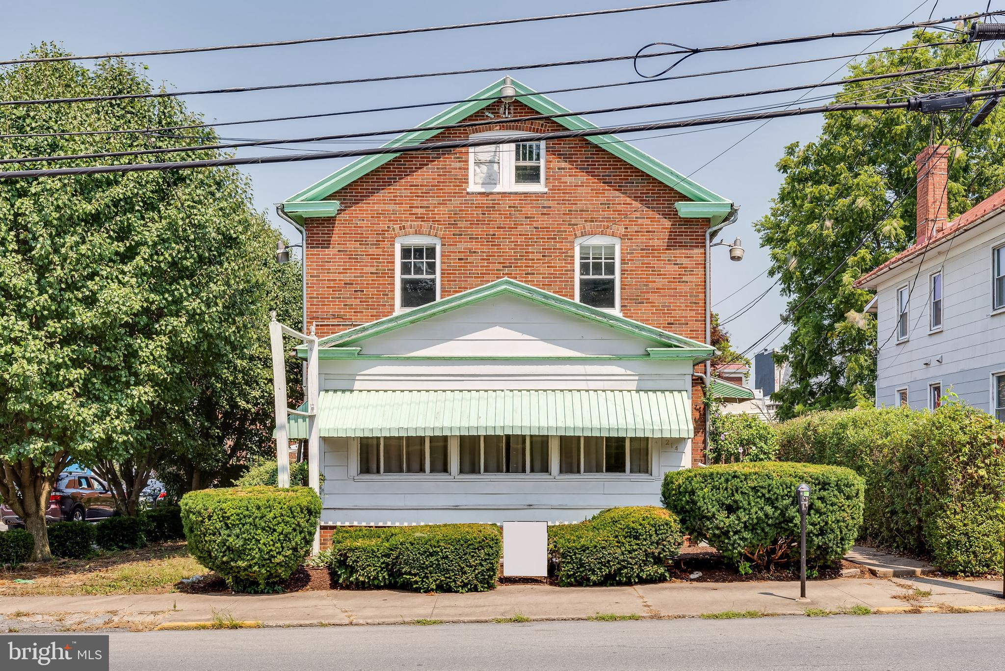 Residential and commercial possibilities!  Located just one block from the main street in downtown C