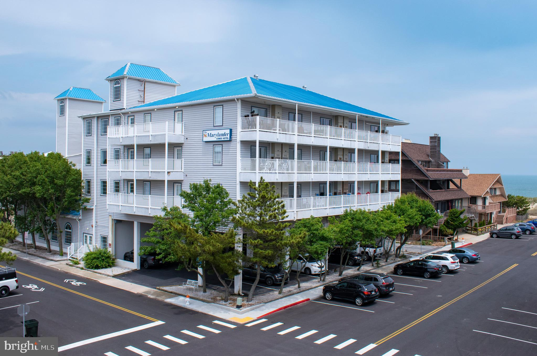 A must-have 1 Bedroom 1 Bath unit with Ocean Views in the quiet North Ocean City! Nicely updated, and well maintained. Sold fully furnished. The Marylander offers a sun deck, indoor pool, game room, and on-site management. The building is located in close proximity to the beach!  And across the street from Northside Park (OC recreation center and sports complex, walk/jog/bike path, crabbing and fishing pier, playground, outdoor concerts, and other events throughout the year including the Winterfest of Lights and Art X). Close to local restaurants and attractions.