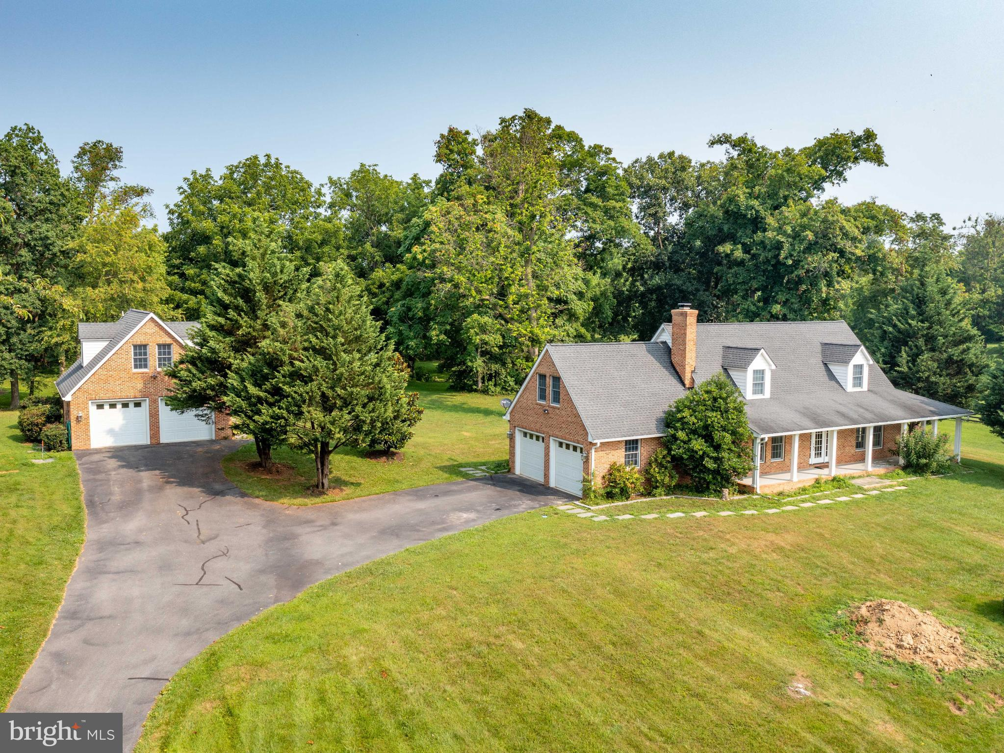 Custom built 4 bedroom  3.5 bath Cape Cod  located  in Clarke County on 6+ acres and partially fence