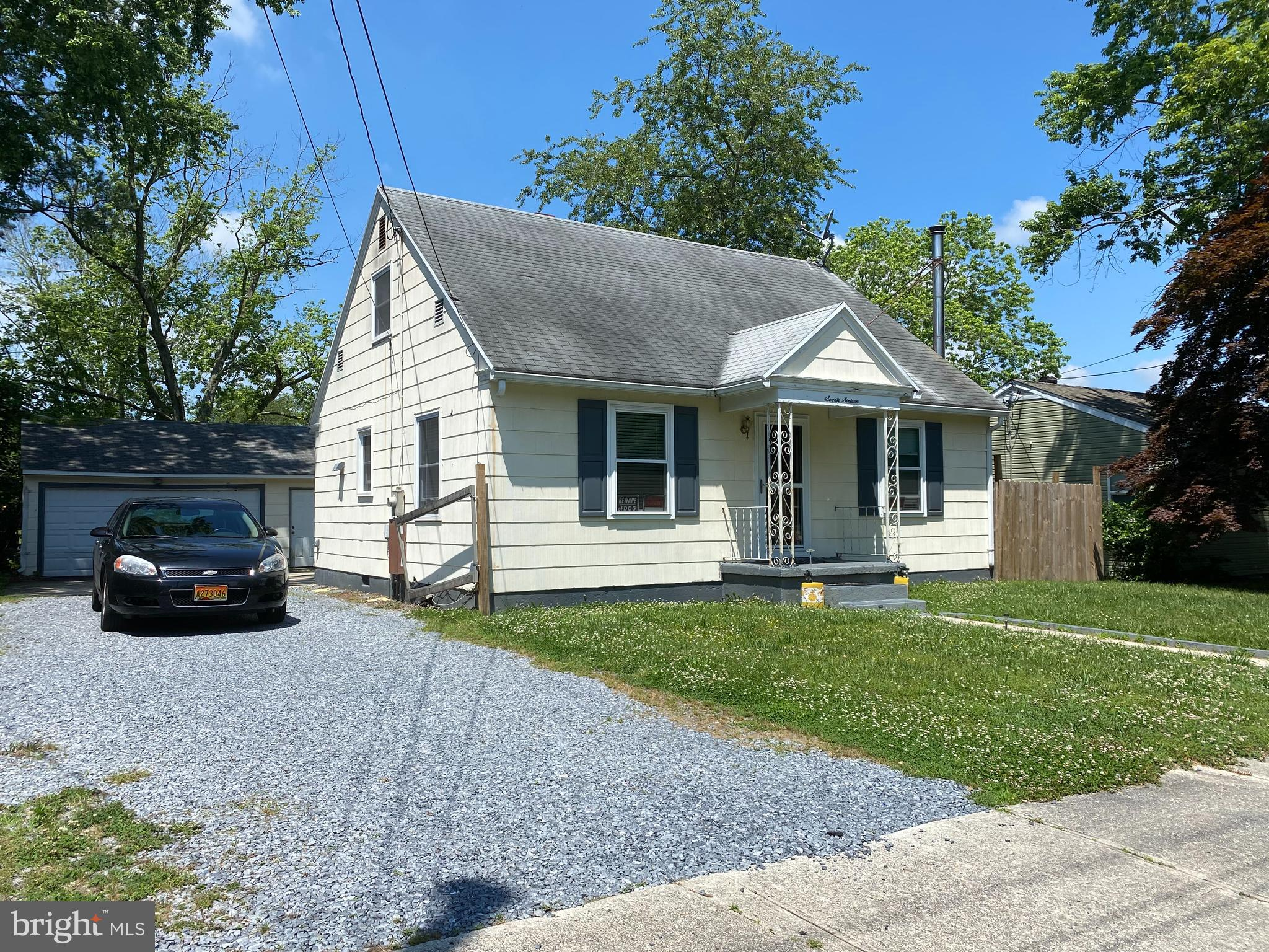 Nicely maintained owner occupied home conveniently located off Route 13 with three bedrooms and a la