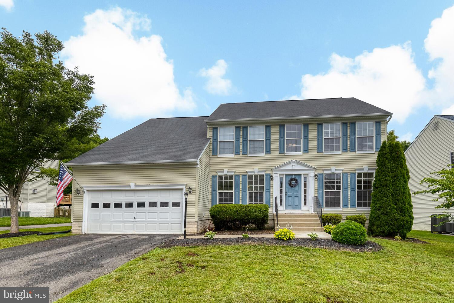 Beautiful three level Colonial in Stafford Lakes Village!  Over 3500 square feet of living space, wo