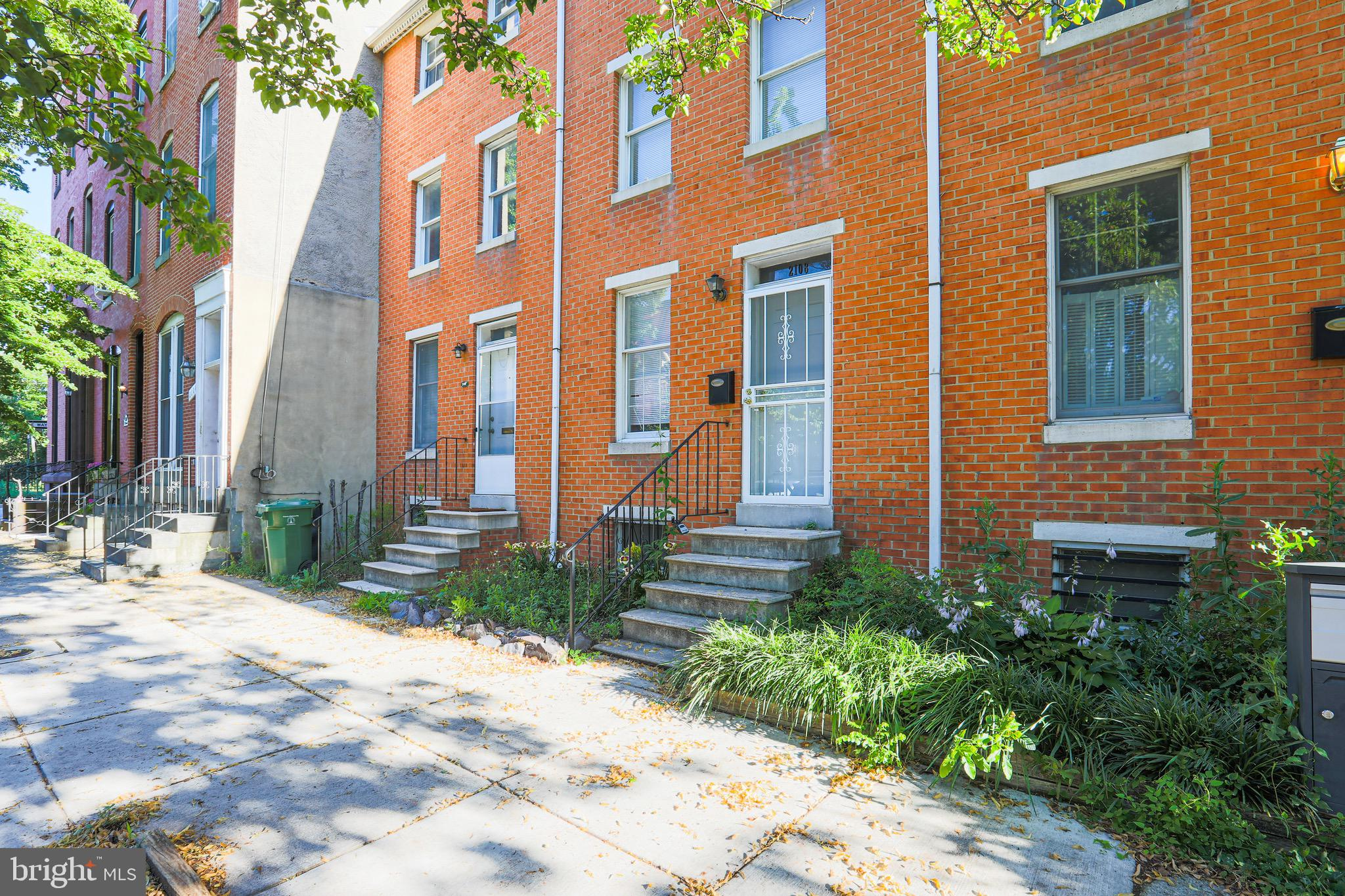 This gorgeous home is situated in the heart of Baltimore in the desirable Butcher's Hill neighborhood. It boasts 3 bedrooms and 2.5 bathrooms, a finished basement, and room for even more space with an office/den upstairs. Relax and enjoy the outdoors in the spacious yard, perfect for entertaining or gardening. Balcony off the second level for additional outdoor space. Take advantage of convenient location to explore all the city has to offer. This one-way street means less noise and more parking!