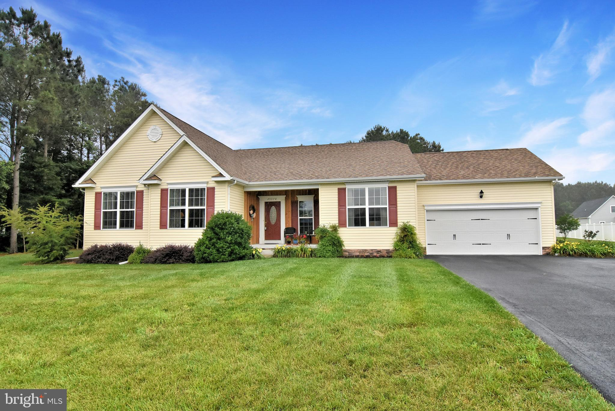 So much to love in this large 3 bedroom ranch home located in the Estates of Morris Mill! Recently r