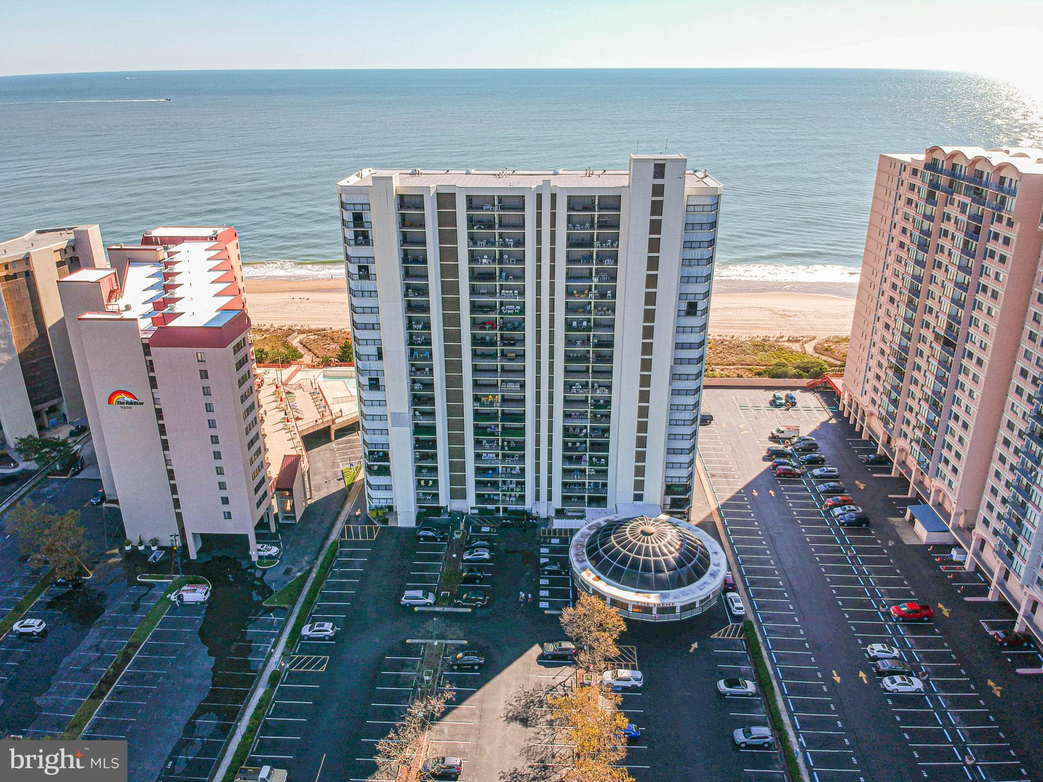 South End Direct Ocean Front Unit. 2 Balconies with Hurricane Shutters. This unit comes with private