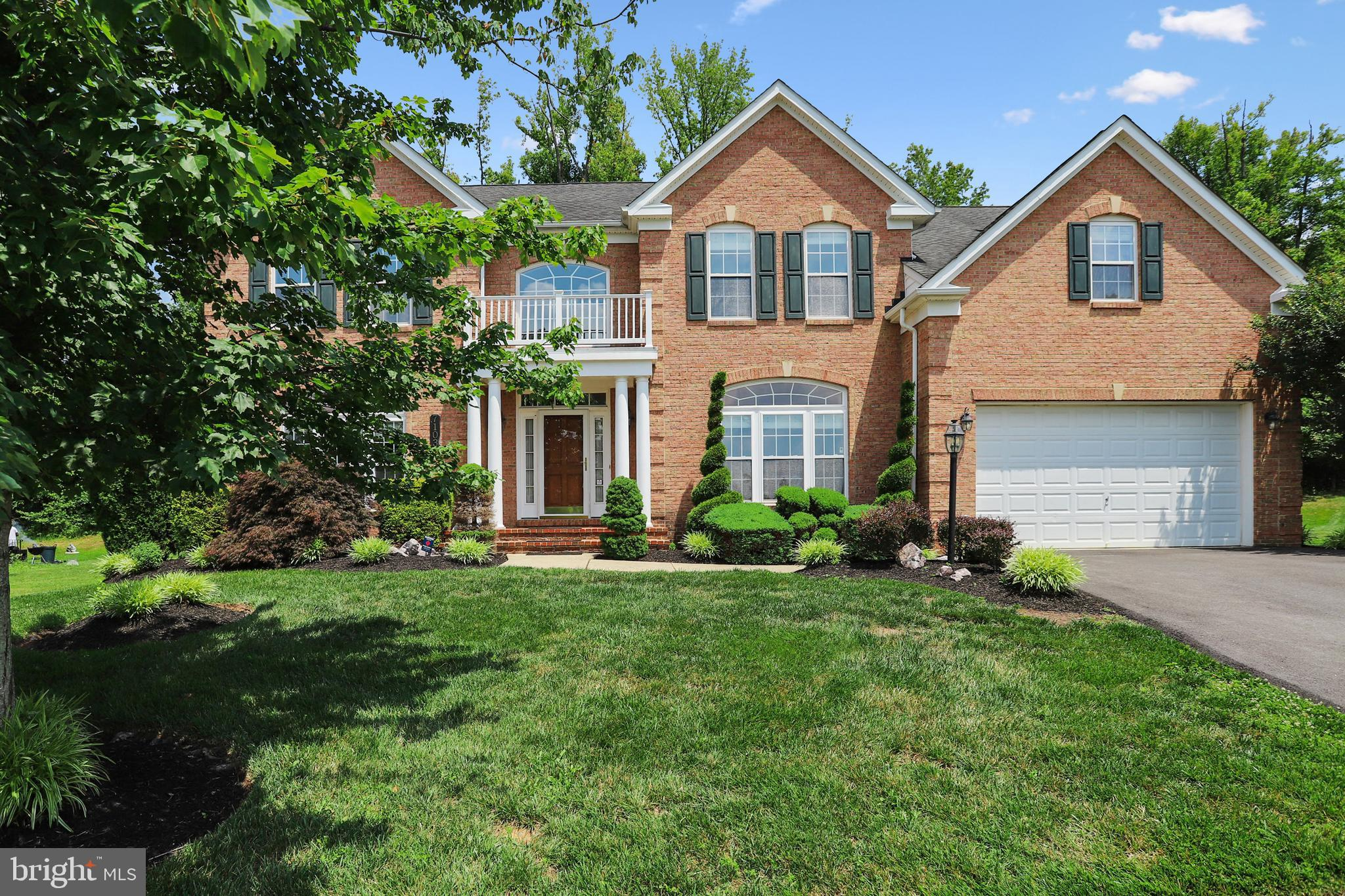 This STUNNING and METICULOUSLY maintained colonial sits on a Cul-De-Sac in Glenn Dale and provides O
