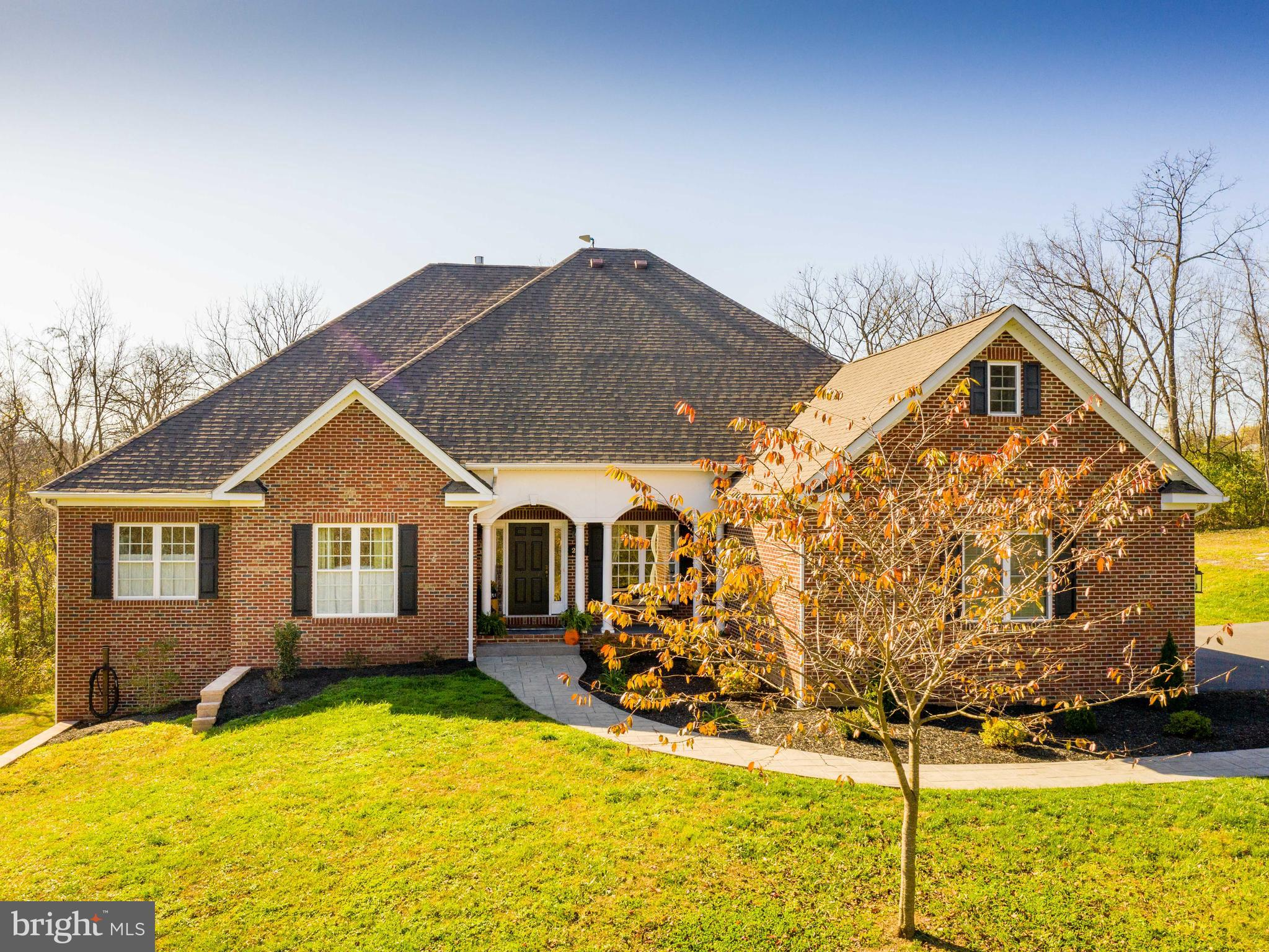 A hidden gem just off of Apple Pie Ridge! This home is tucked away on a private & well manicured, 2