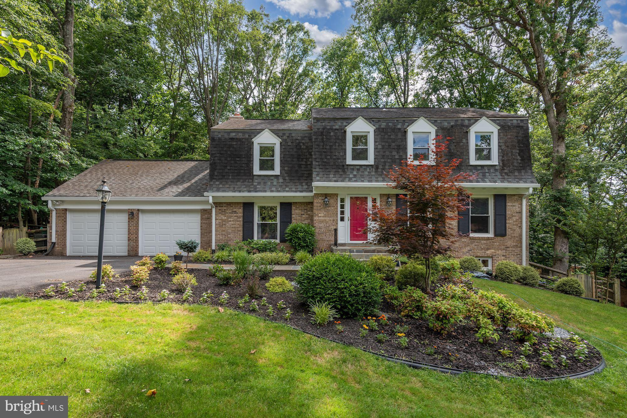 10024 Weatherwood Court is a gracious and inviting 5 Bedroom, 3.5 Bath Colonial in spectacular Count