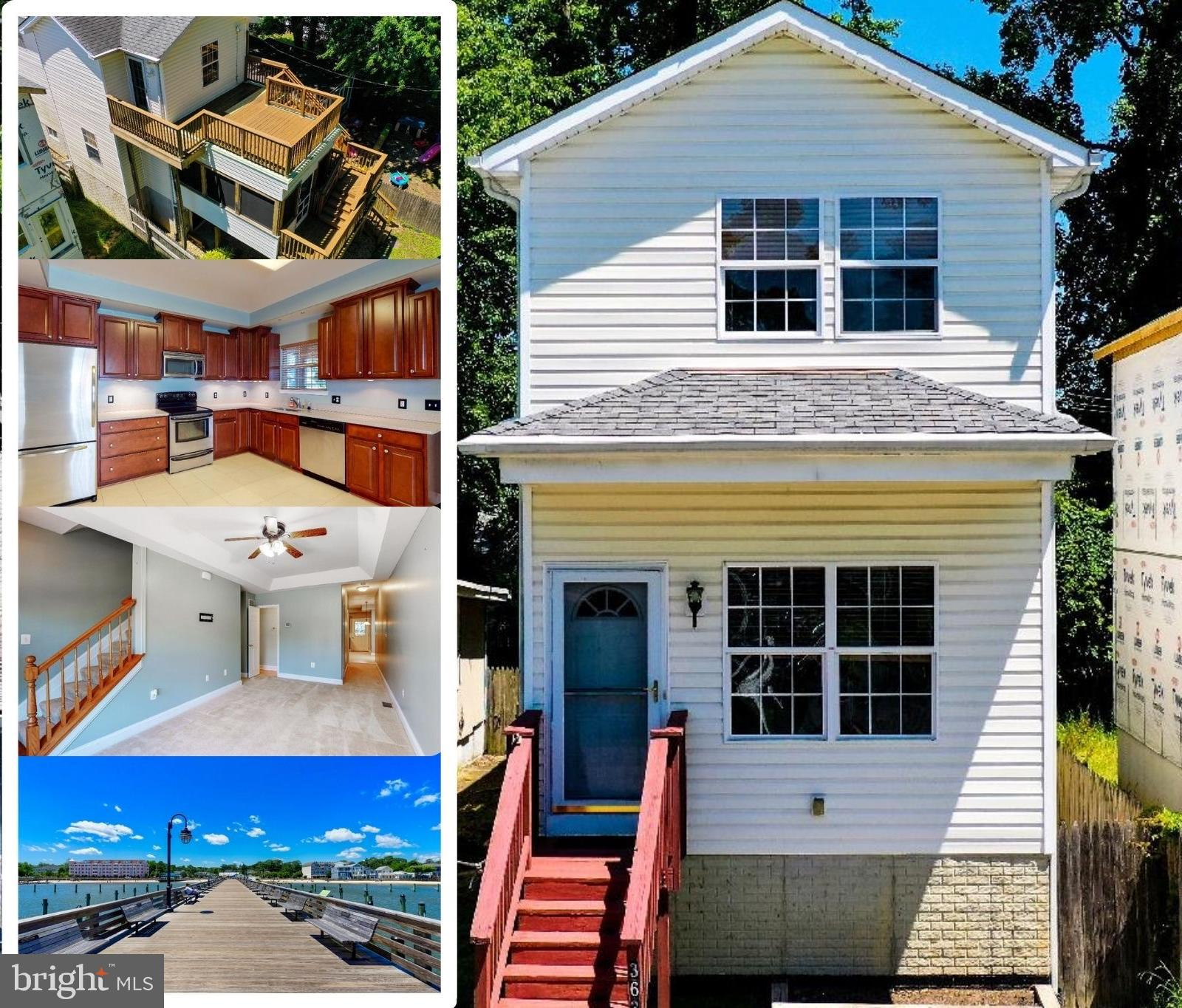 Beach style Traditional Home new to the market. Only a few minute drive to the Twin Beach amenities;