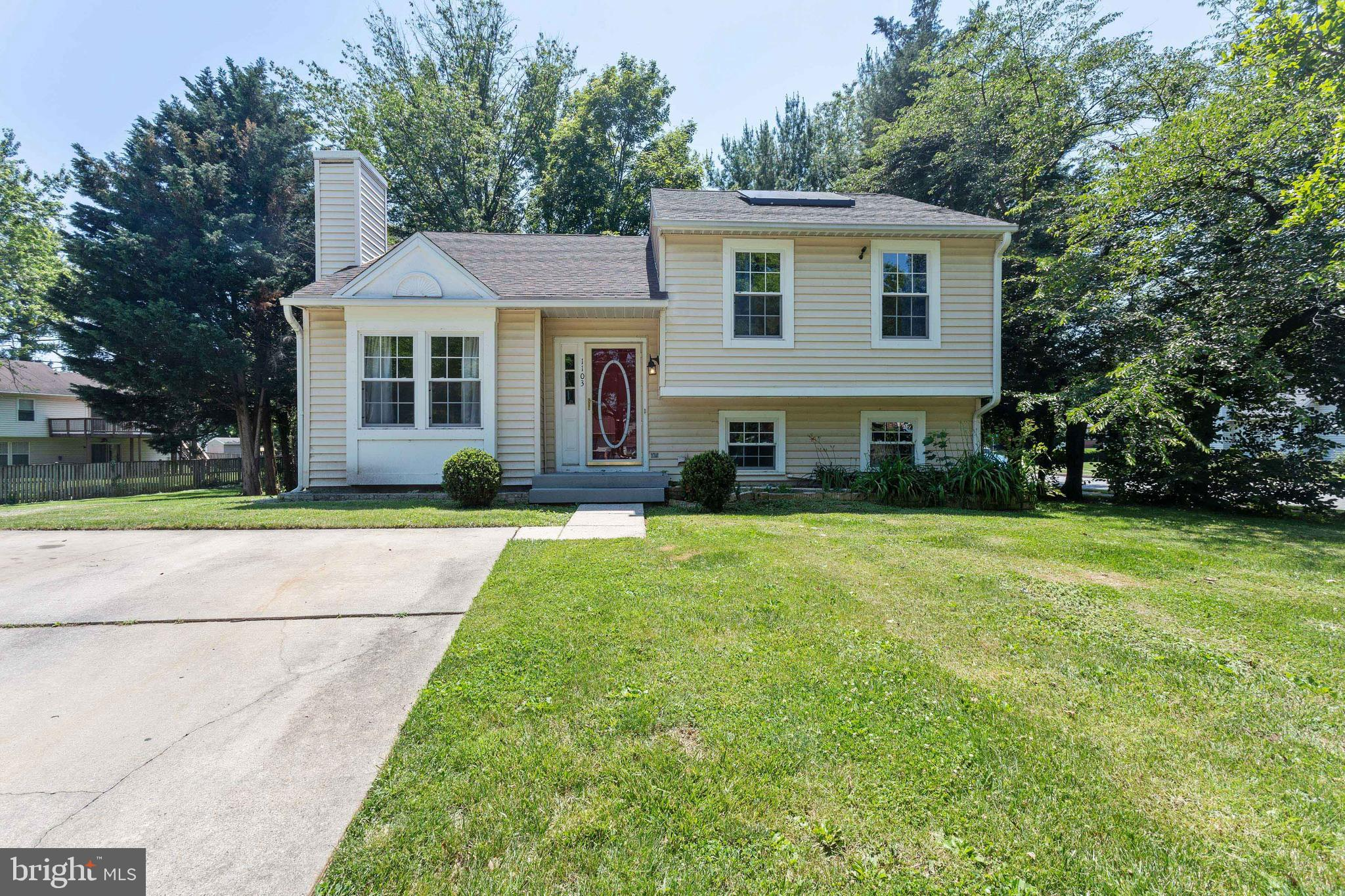 Welcome Home!  This spacious split level home sits on a corner lot and offers four bedrooms, 2 full baths, large deck and patio for entertaining and so much more!  Basement is fully finished, SS appliances and plenty of storage space! Convenient to 695 and 70 for an easy commute!