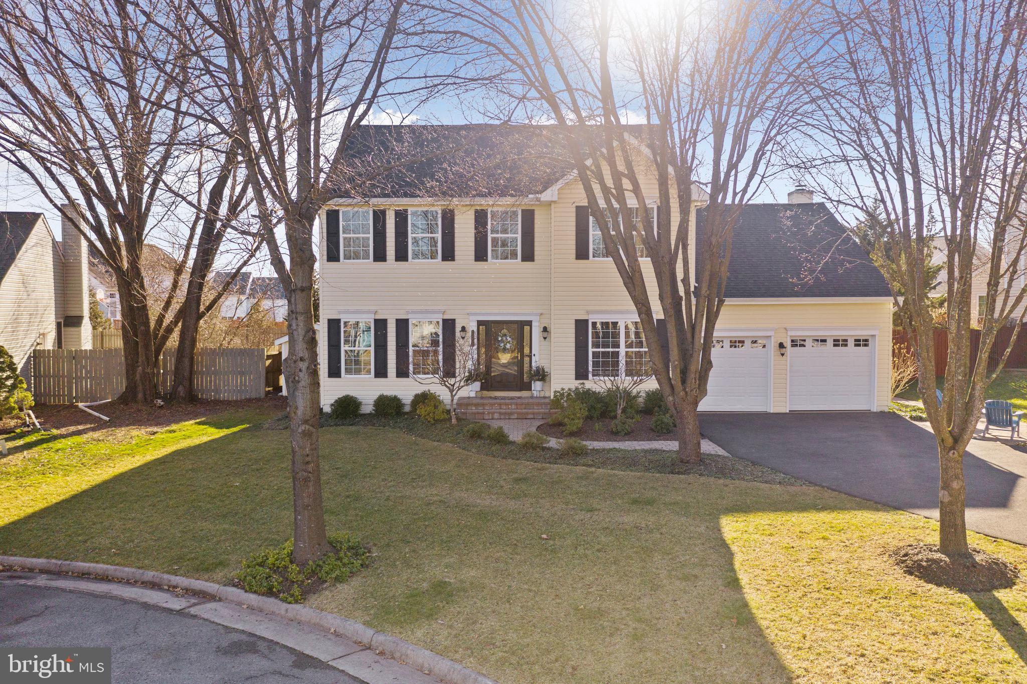 I'm so pleased to present this pristinely maintained and updated home on a private cul-de-sac.  Don'