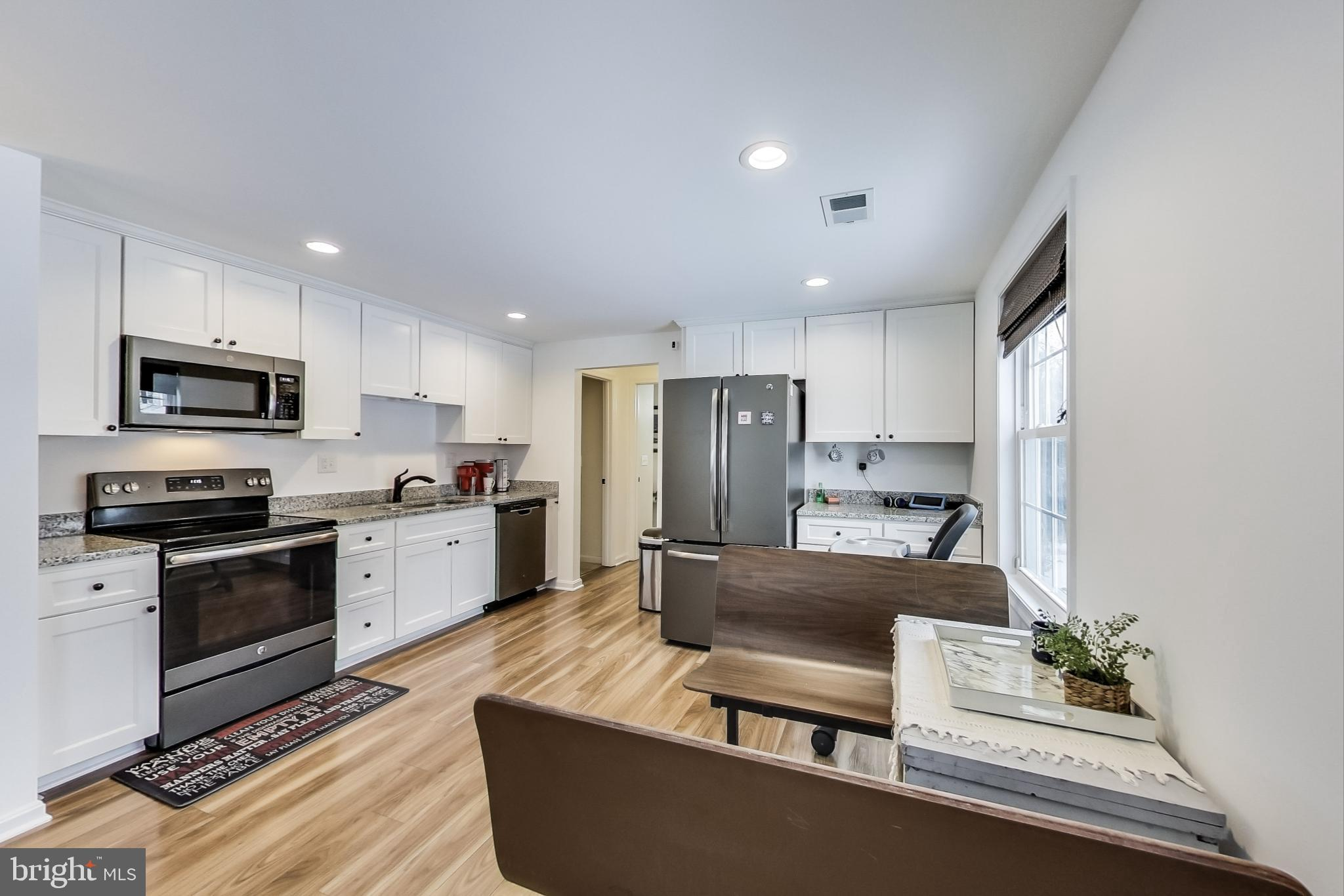 Completely renovated in 2018, 2419 York Court is a modern-design, single-level home with a beautiful
