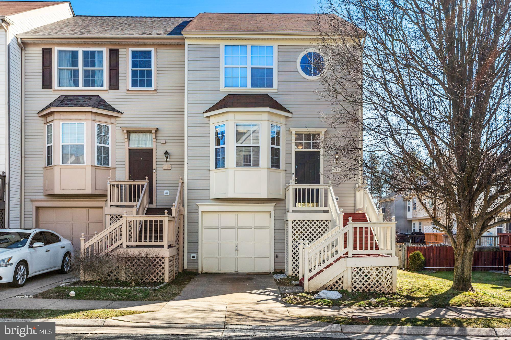 Gorgeous End Unit Townhouse located in sought after Main Street Village in the heart of Purcellville