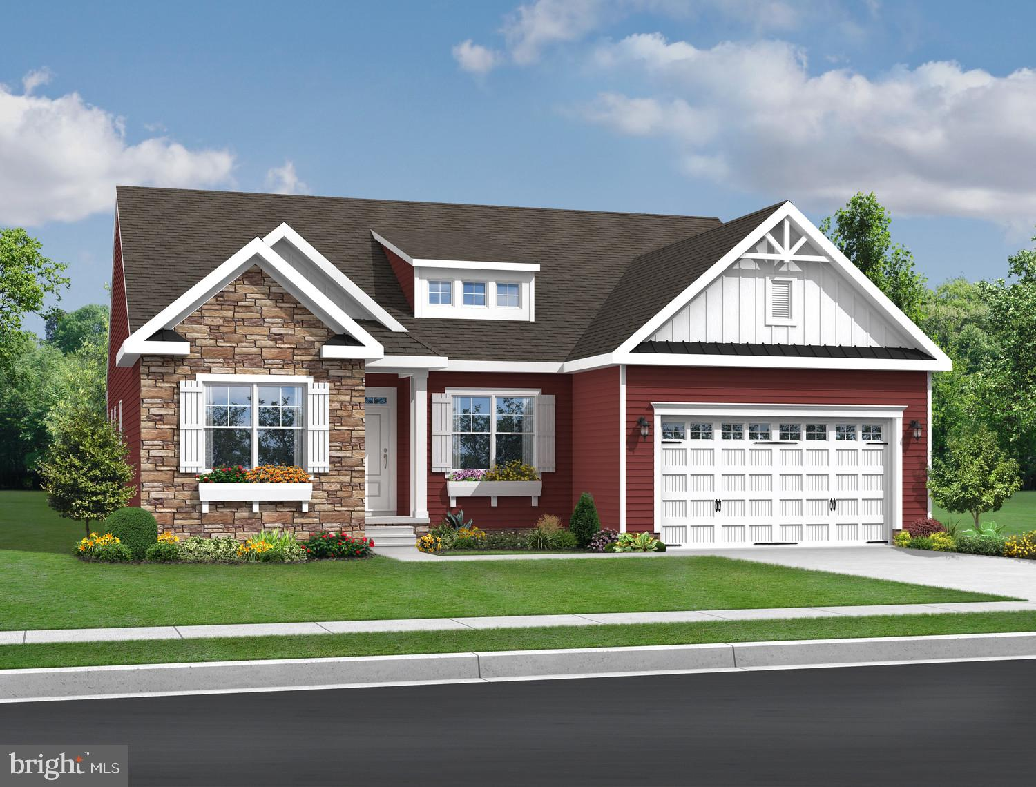 The Amelia model in the Kincade Series has three bedrooms and two full bathrooms, an open floor plan