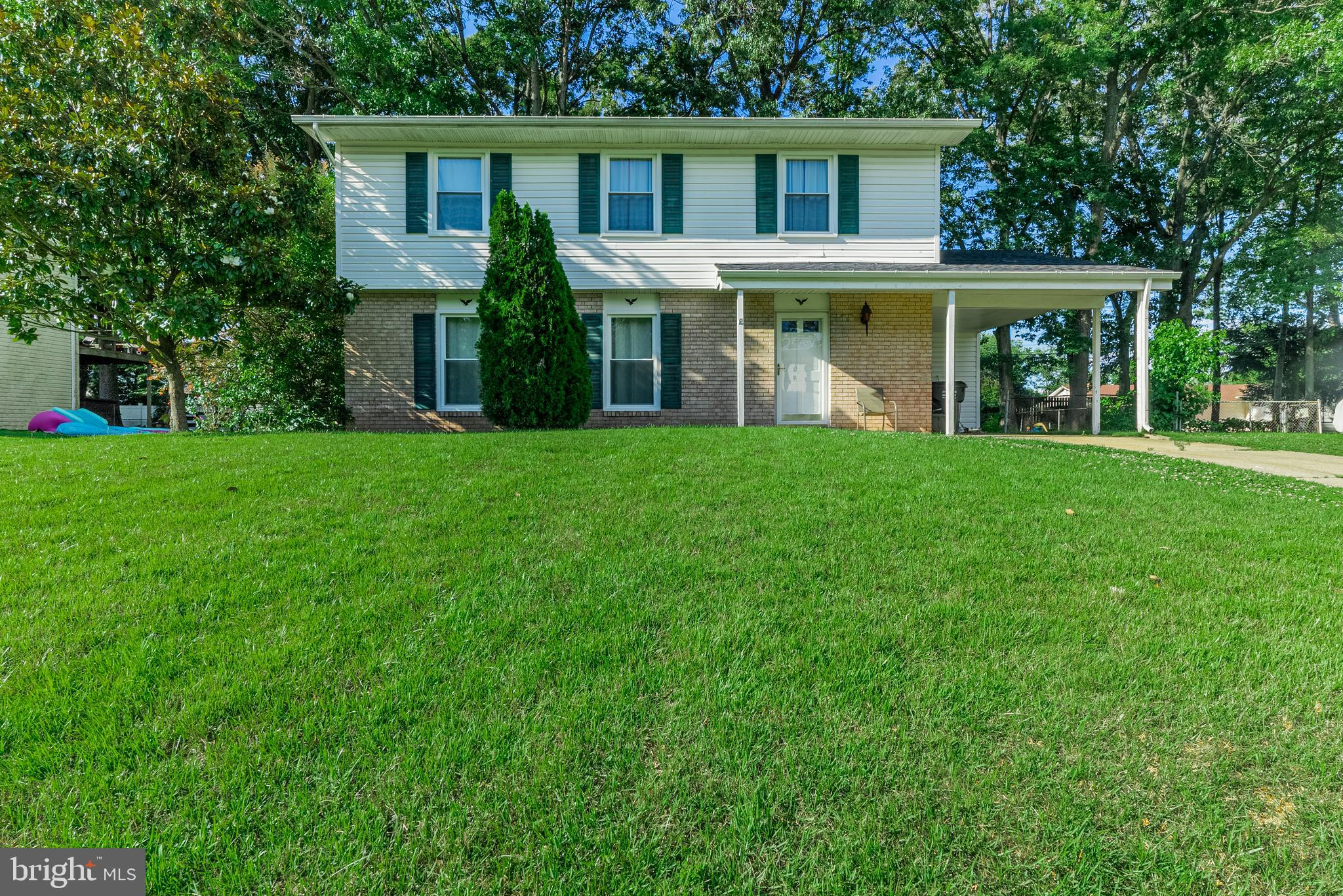 Welcome Home! Lovely 4BD/2.5BA home. Nicely renovated kitchen with a large eat in area with access to the family room and living room areas for entertaining.  Master Suite with two closets. Fenced backyard with a covered patio, play set, and shed. Offers due on Sunday 6/20 at 2 pm.