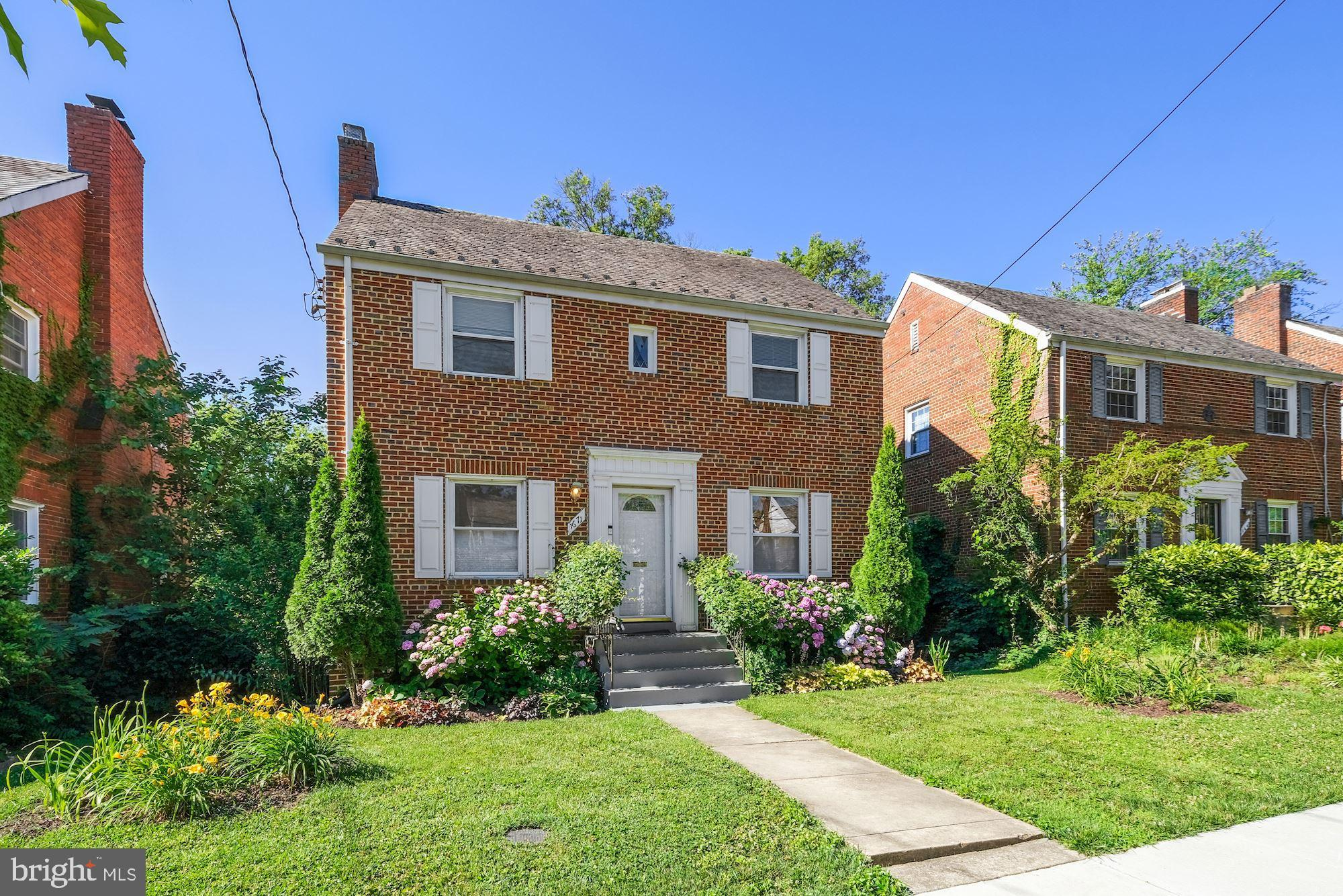 Come home to this stunning detached brick colonial home in the heart of Michigan Park.  This homes f