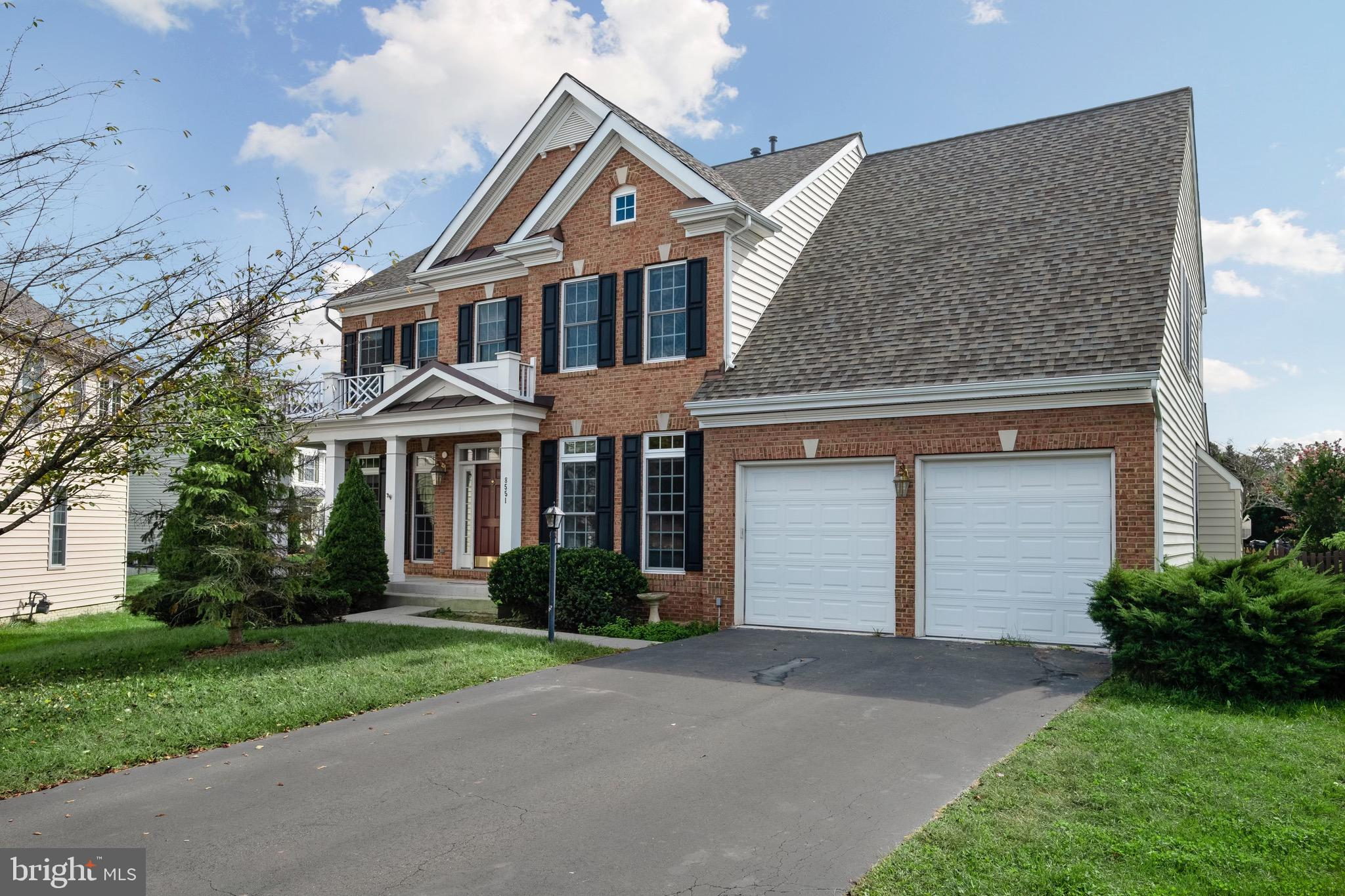 5bedroom colonial home with over 4,000 SQFT of living space on a cul-de-sac located in Coles Run Manor. Enjoy the outdoor space with a large low maintenance deck and a fenced in yard. Roof replaced in 2017 and HVAC in 2019. Upstairs loft area great for second family room or play space. Plenty of sunlight throughout the home. Kitchen flows into family room with sliding door to deck. Hardwood floors on most of the main level. Full bathroom and bedroom in basement great for visitors or extended family. Plenty of parking in long driveway and two car garage.