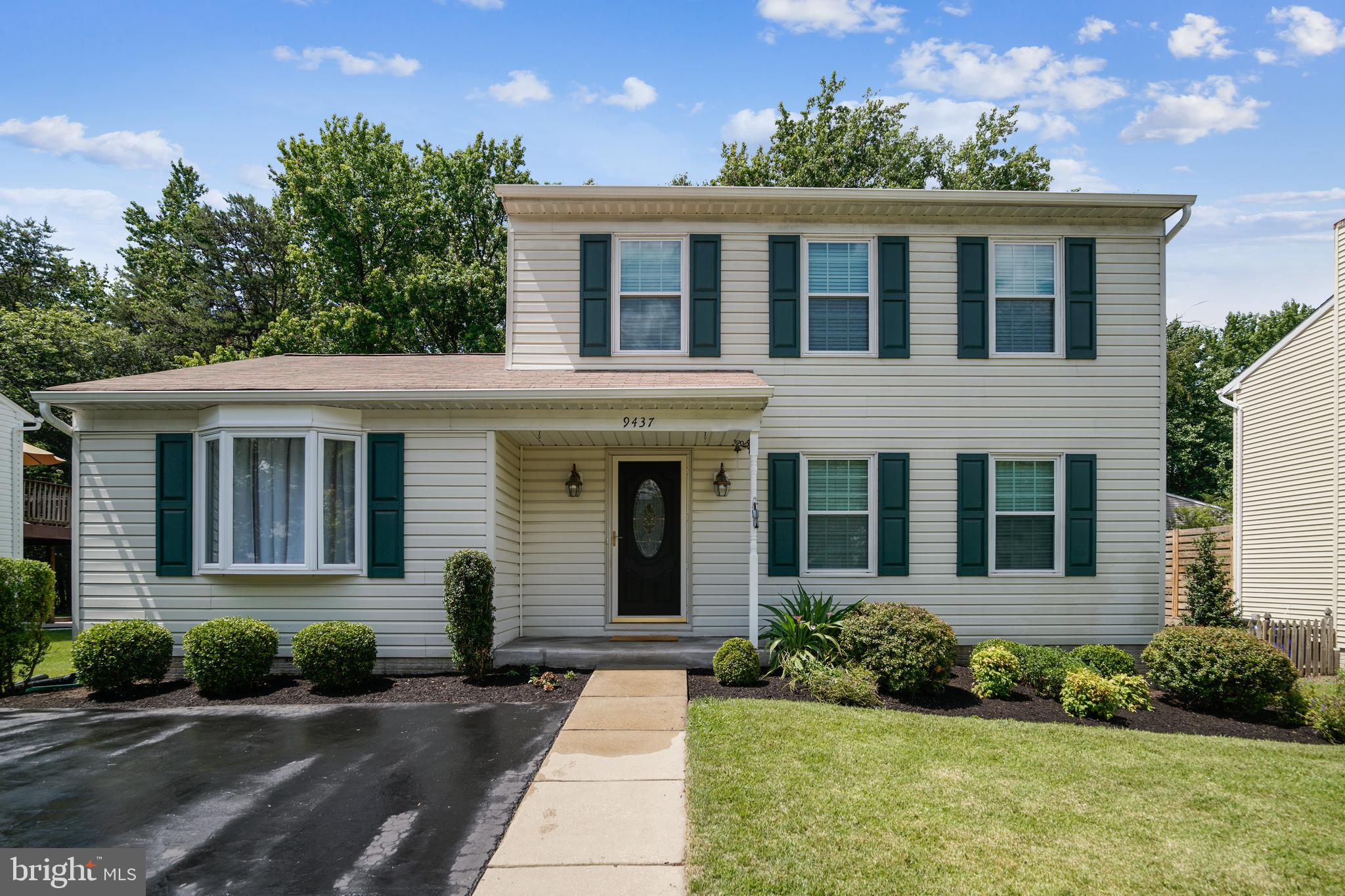 """Pride Of Ownership Is Evident! What A Home! Backs to trees and county green space. Relax on the generous size screened porch (built-2019), walk down the steps to the """"grilling patio"""" (installed-2020). Also new in 2020- Heat Pump/CAC; Washer and Dryer; W/W Carpeting on the lower level.  New in 2019-Refrigerator; Gutters and Downspouts. 2017-New Water Heater. 2014-Kitchen New Cabinet Design and Remodeled. 2013-Remodeled Basement Family Room and Laundry Room. 2010-New Driveway and Sidewalk. 2009-New Windows Installed in Whole House. 2008-Interior Doors replaced in Whole House. 2007-Replace Roof; Dining Room Remodeled; Security System installed. 2006-Primary Bedroom and Primary Bathroom remodeled. 2004- Family Room remodeled; main level Half Bath remodeled; Bay Window installed; Peller Stove and Hearth installed; Foyer expanded and remodeled. 2003-Upper Level Hall Bath remodeled and added a Jacuzzi Tub. Other interior features include built-ins, crown mold, chair rail, wainscoting.  Exterior features include newer exterior doors, professional landscaping, 2 storage sheds."""