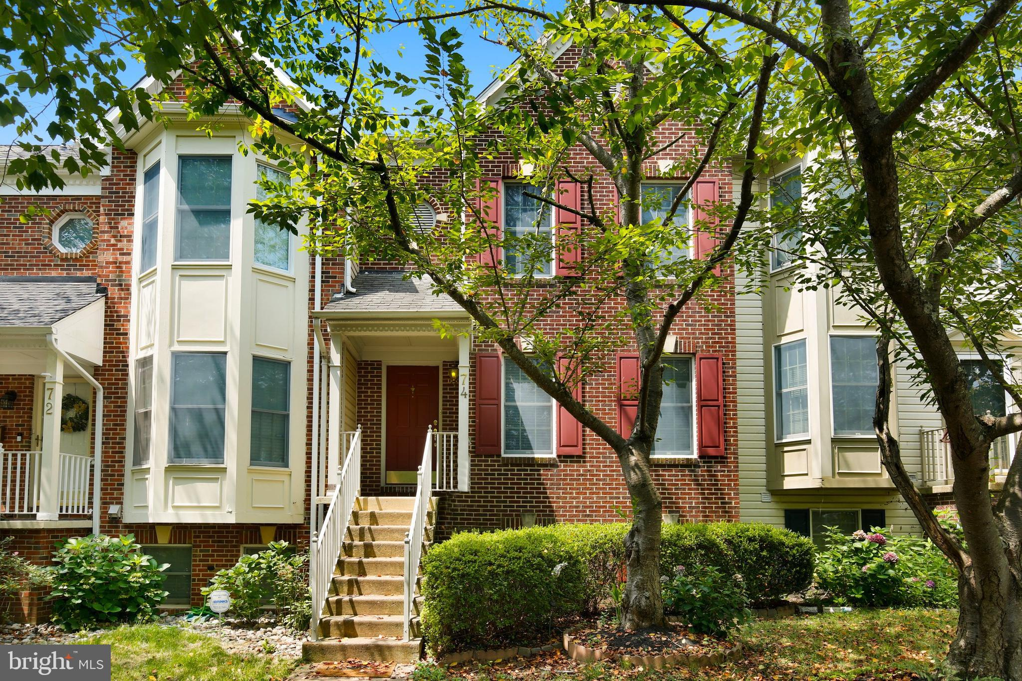 Welcome to this gorgeous, sun-drenched townhome located in desirable Germantown Estates! This home h