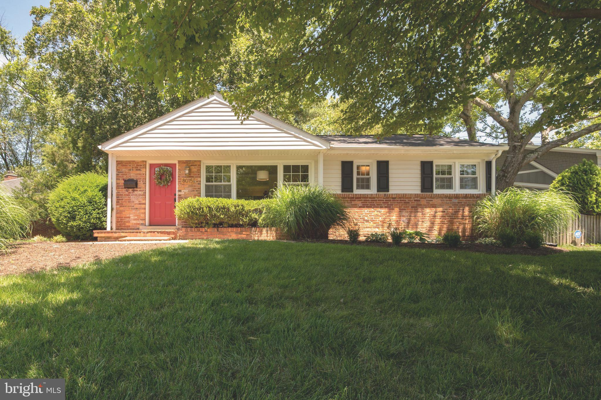 Easy, one-level living in desirable Hollin Hall Village. Beautifully updated and move-in ready, this