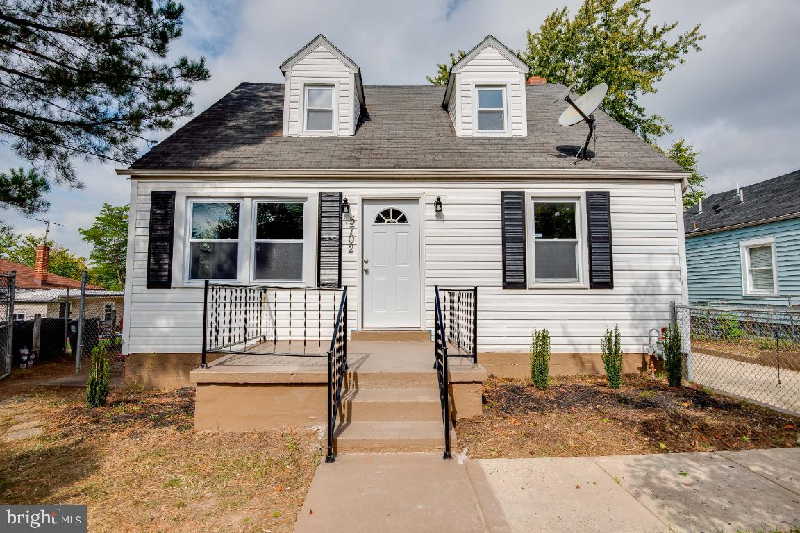 Welcome Home to this gorgeous and fully renovated Cape Cod.  Enjoy this 5 Bedroom and 3 full Bath GE