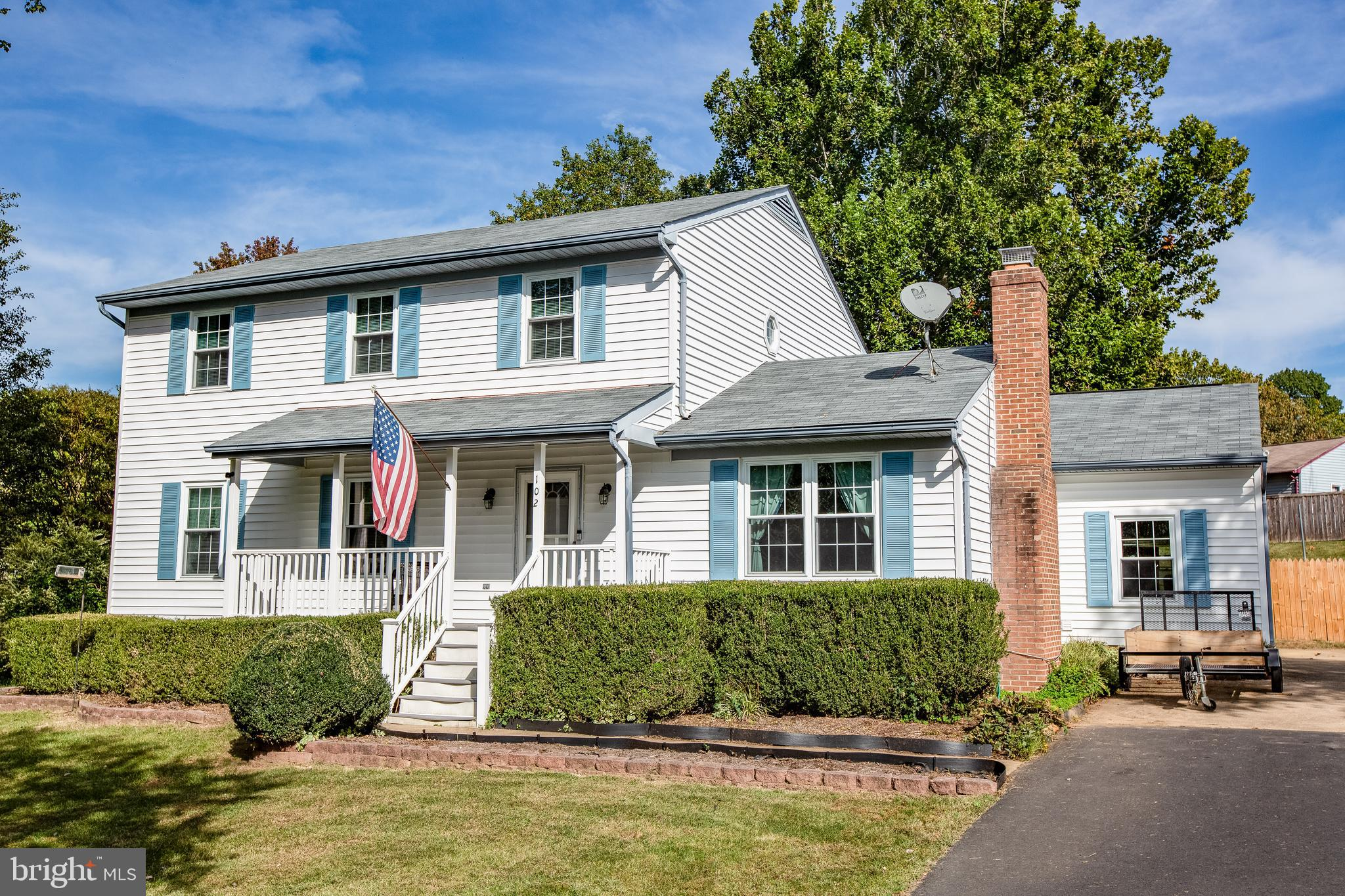 Welcome home to 102 Vista Woods Road! This lovely colonial in the sought out Vista Woods neighborhoo
