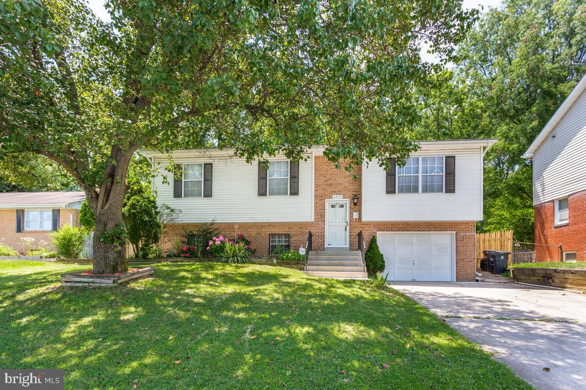 Large four bedroom, two and a half bath split foyer. Master bedroom suite with full bath. Remodeled