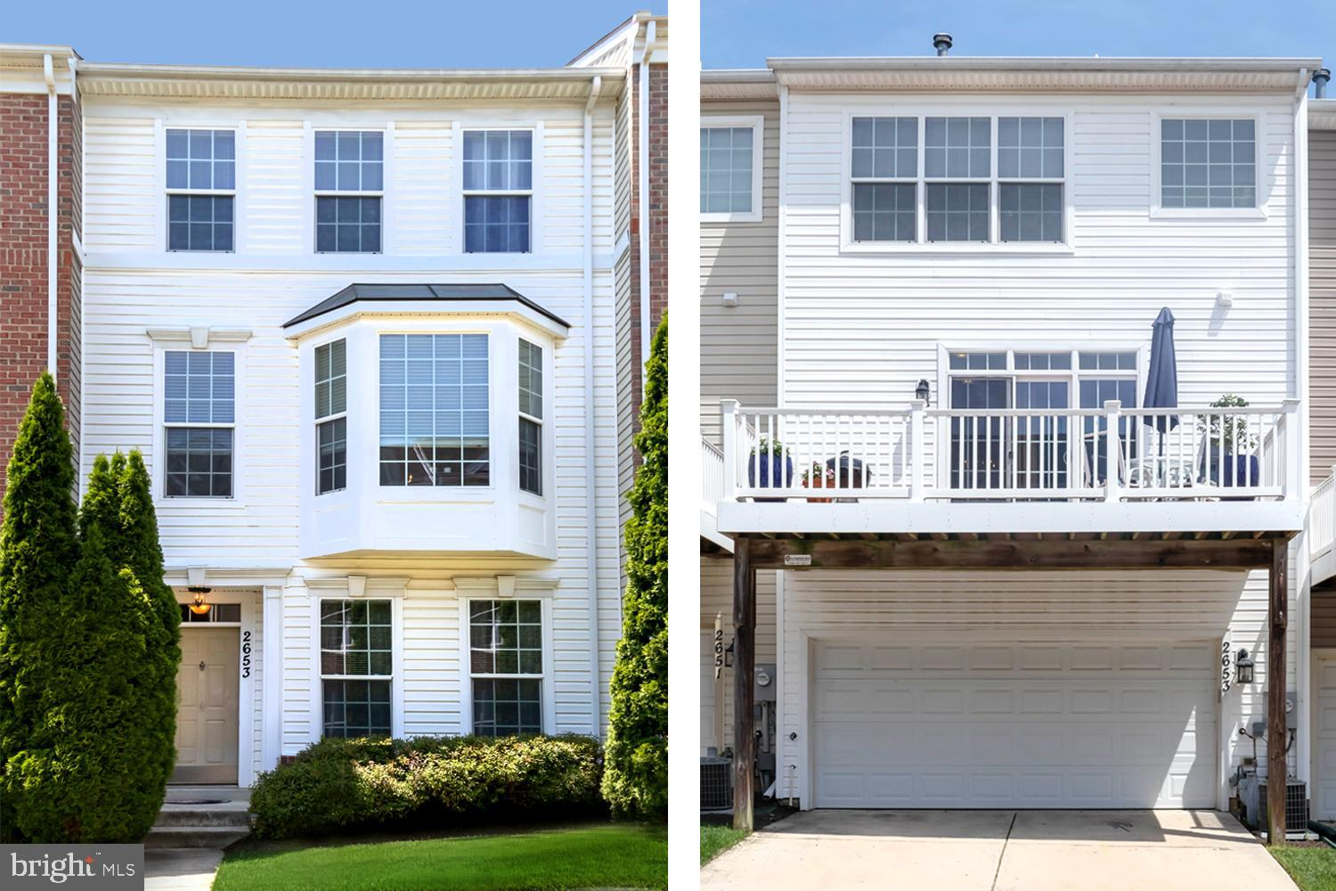 COVETED 3-LEVEL GARAGE TOWNHOME with DECK in AMENITY RICH PINEY ORCHARD!  Entry level introducing ho