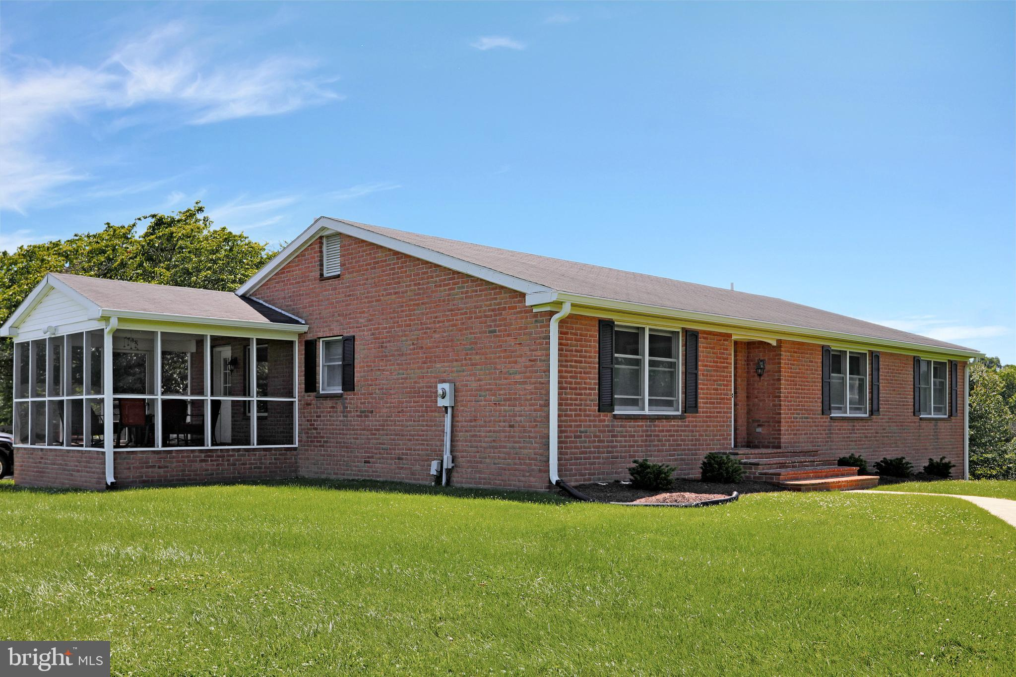 This is the one! 3 Bedrooms and 2 full bathrooms. All brick rancher with full unfinished walk out ba