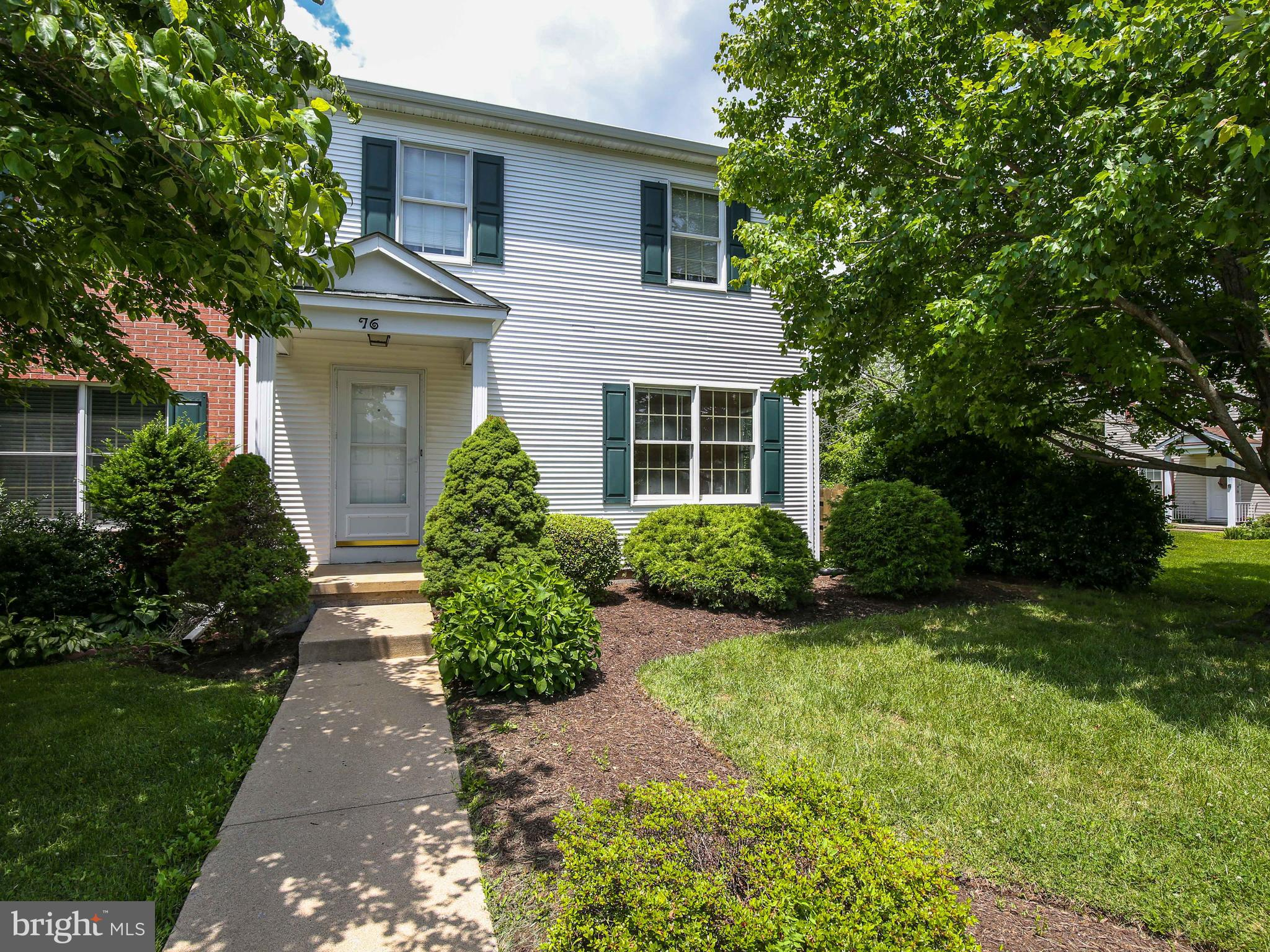Own your own home!  This three bedroom, 1.5 bath end unit townhome is situated in the sought after T