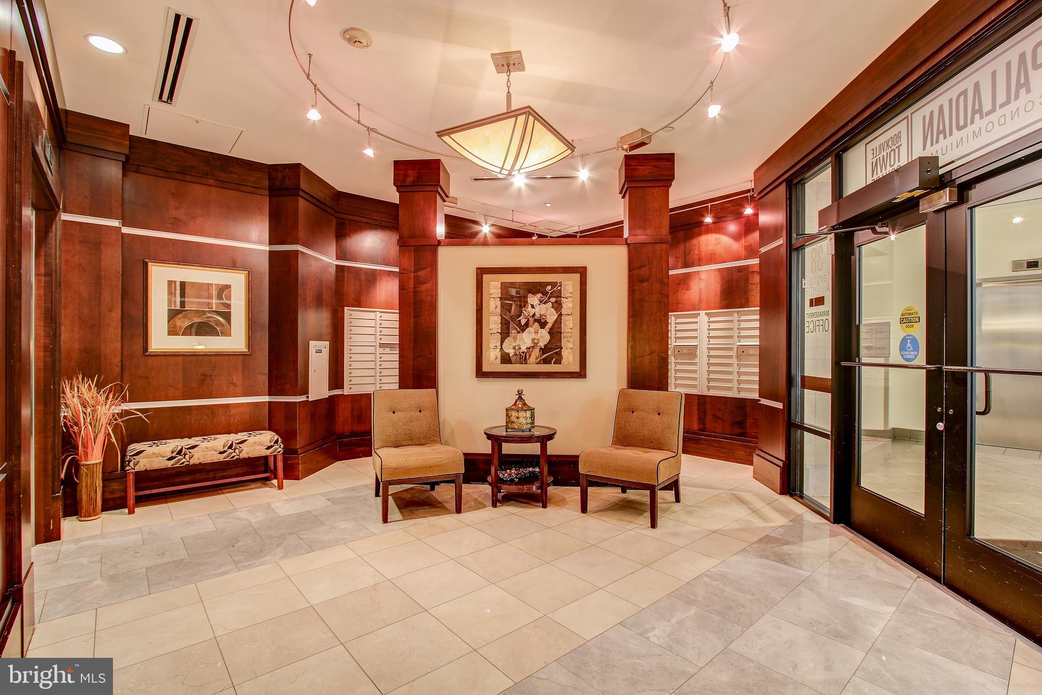 Welcome to The Palladian, a charming urban oasis in the heart of the Rockville Town Square, Amenitie