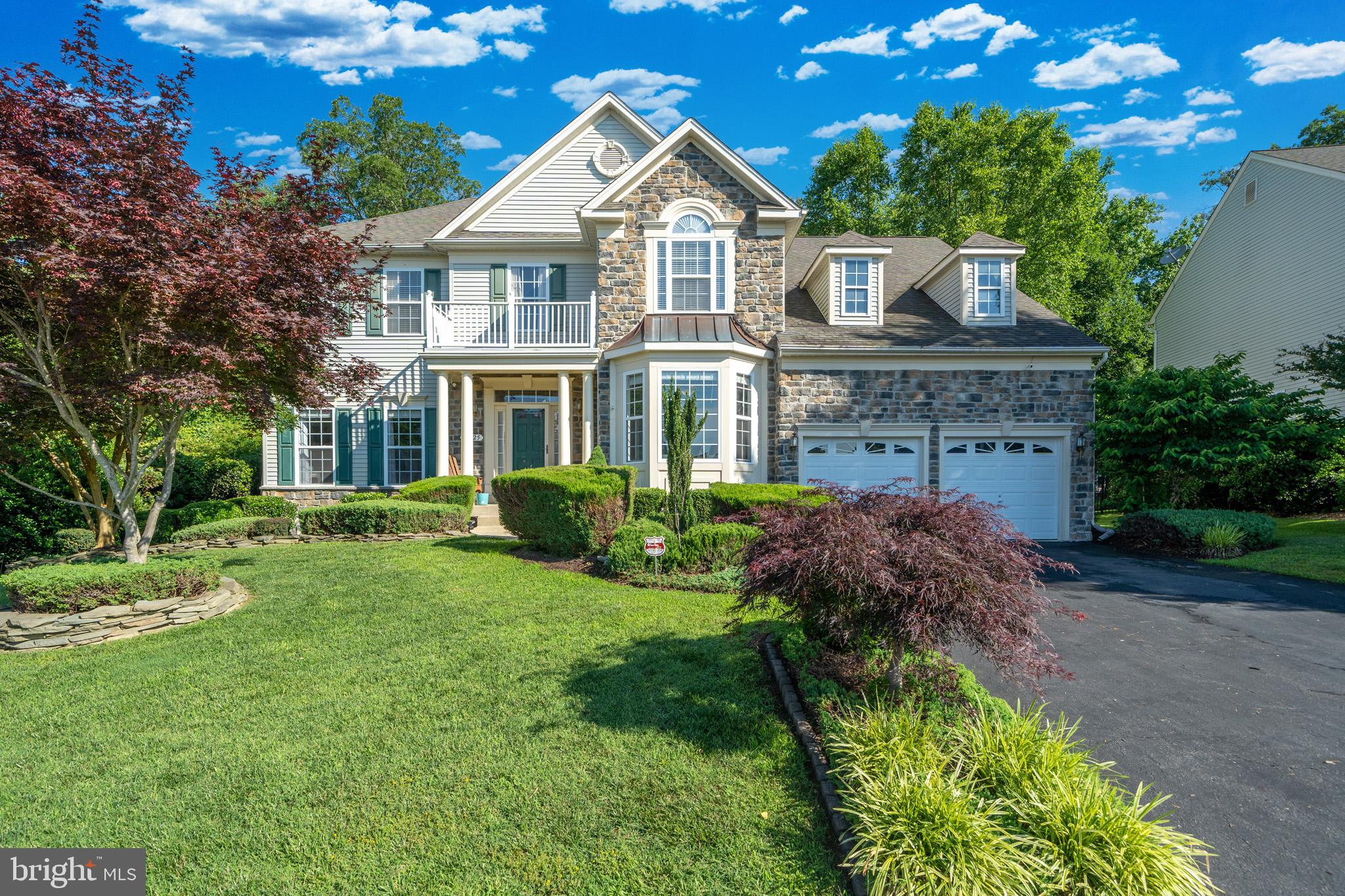 Look no futher!!! This immaculate stone front colonial is perfect for everyone! The main level was m