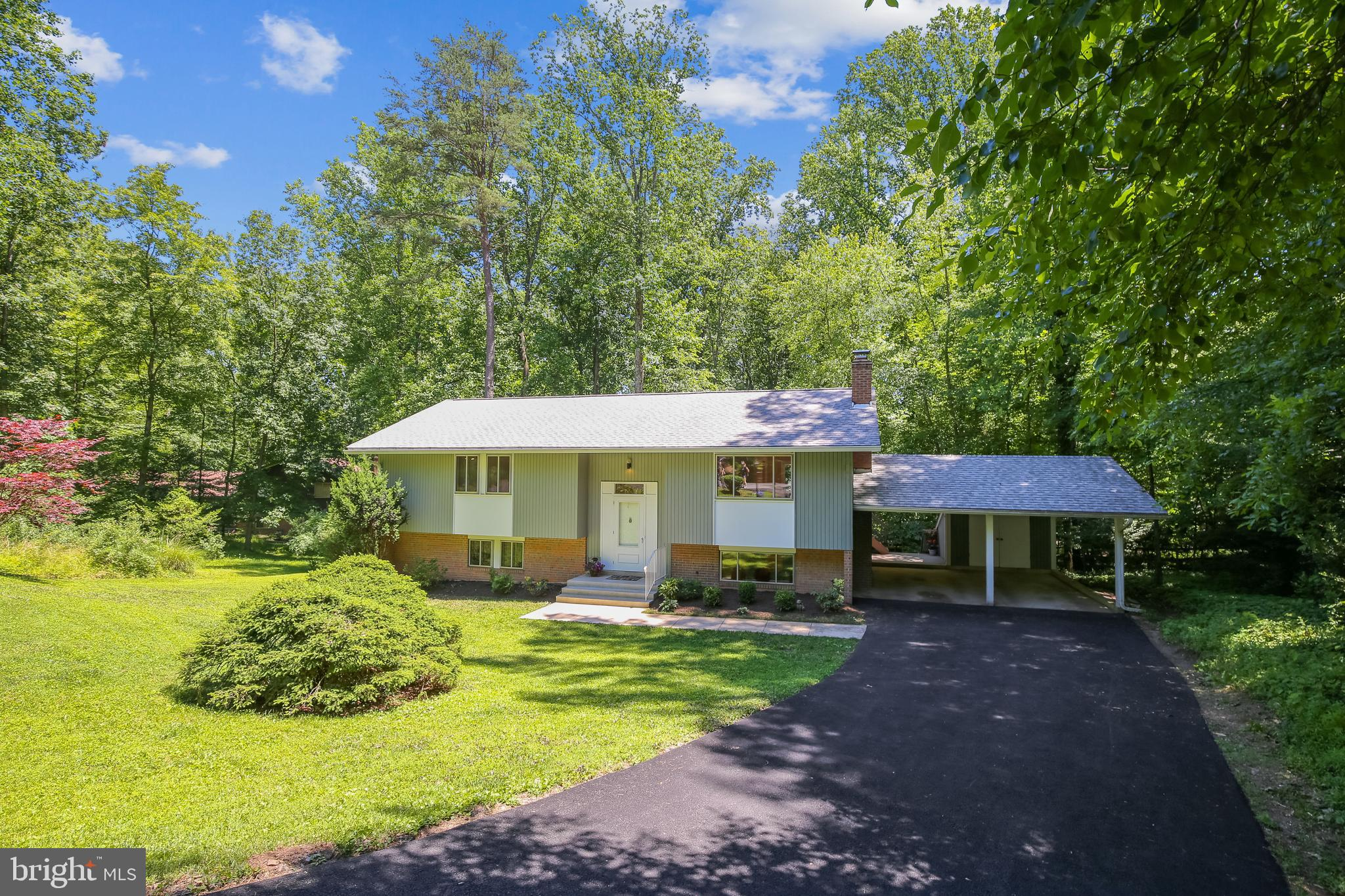 """""""NEW ON THE MARKET!!!""""  Private CUL-DE-SAC Homesite in Quiet Reston Neighborhood with Trees! Trees!"""