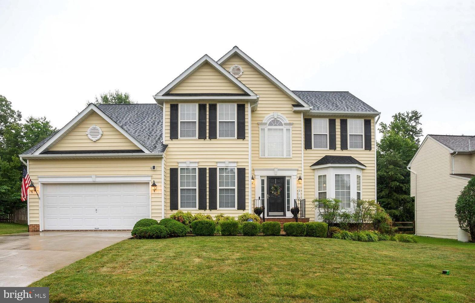 Gorgeous Colonial in the Jamestowne Subdivision in La Plata.  From the two story entry and grand sta