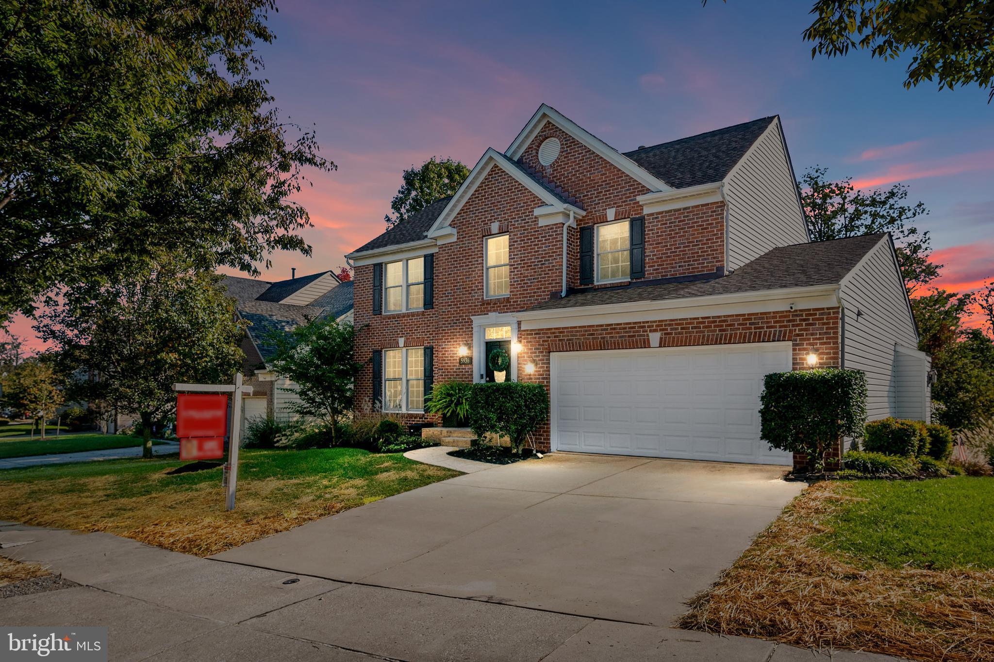 Gorgeous and well appointed updates and renovations accompany this Lyndwood Manor brick home. Backs