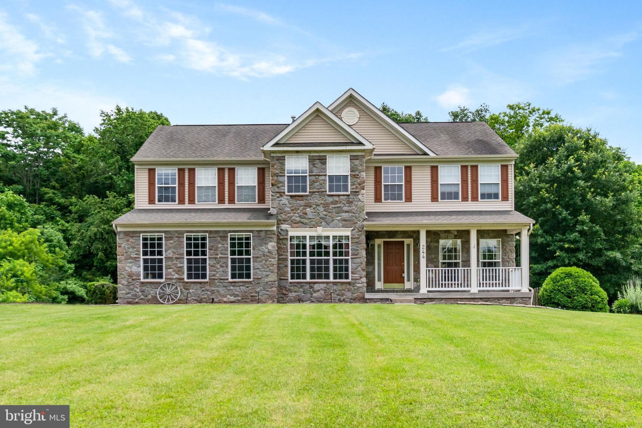 Truly magnificent at nearly 4,500 square feet of finished living space, this 4 bedroom  3 1/2  bath