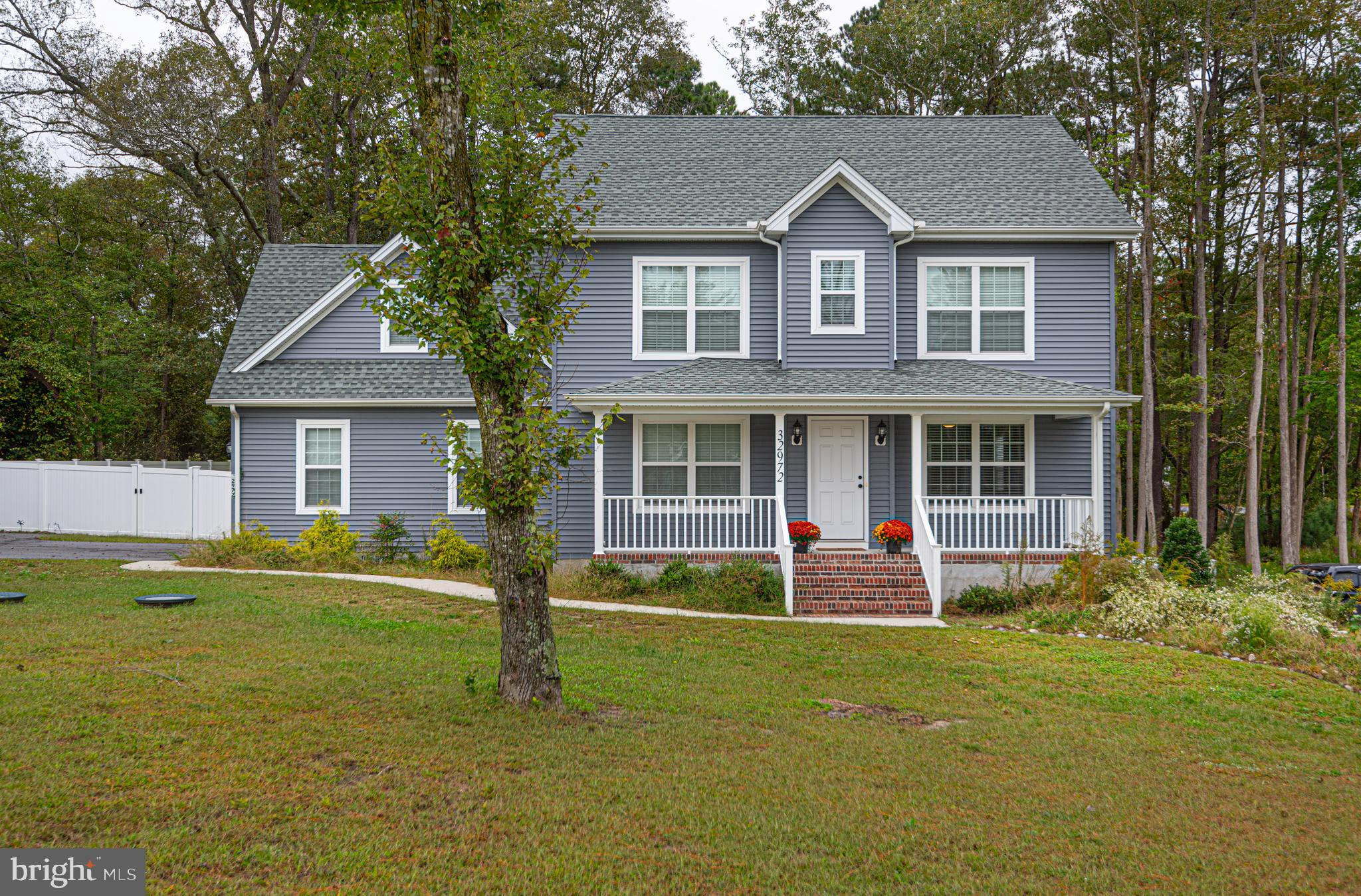 This  contemporary colonial is conveniently located in  Eastern  Wicomico County, a quick drive to