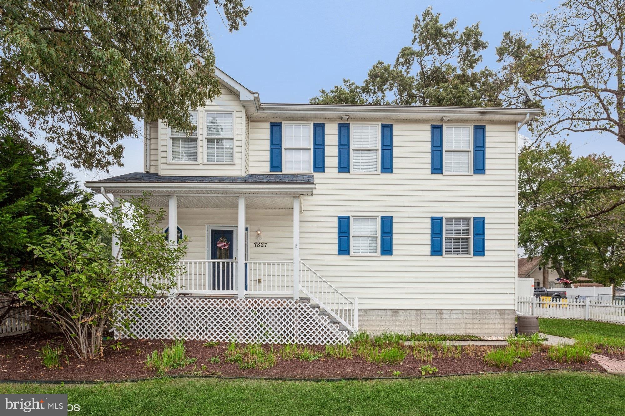 This updated colonial features the backyard of your dreams! An open floor plan main level includes a