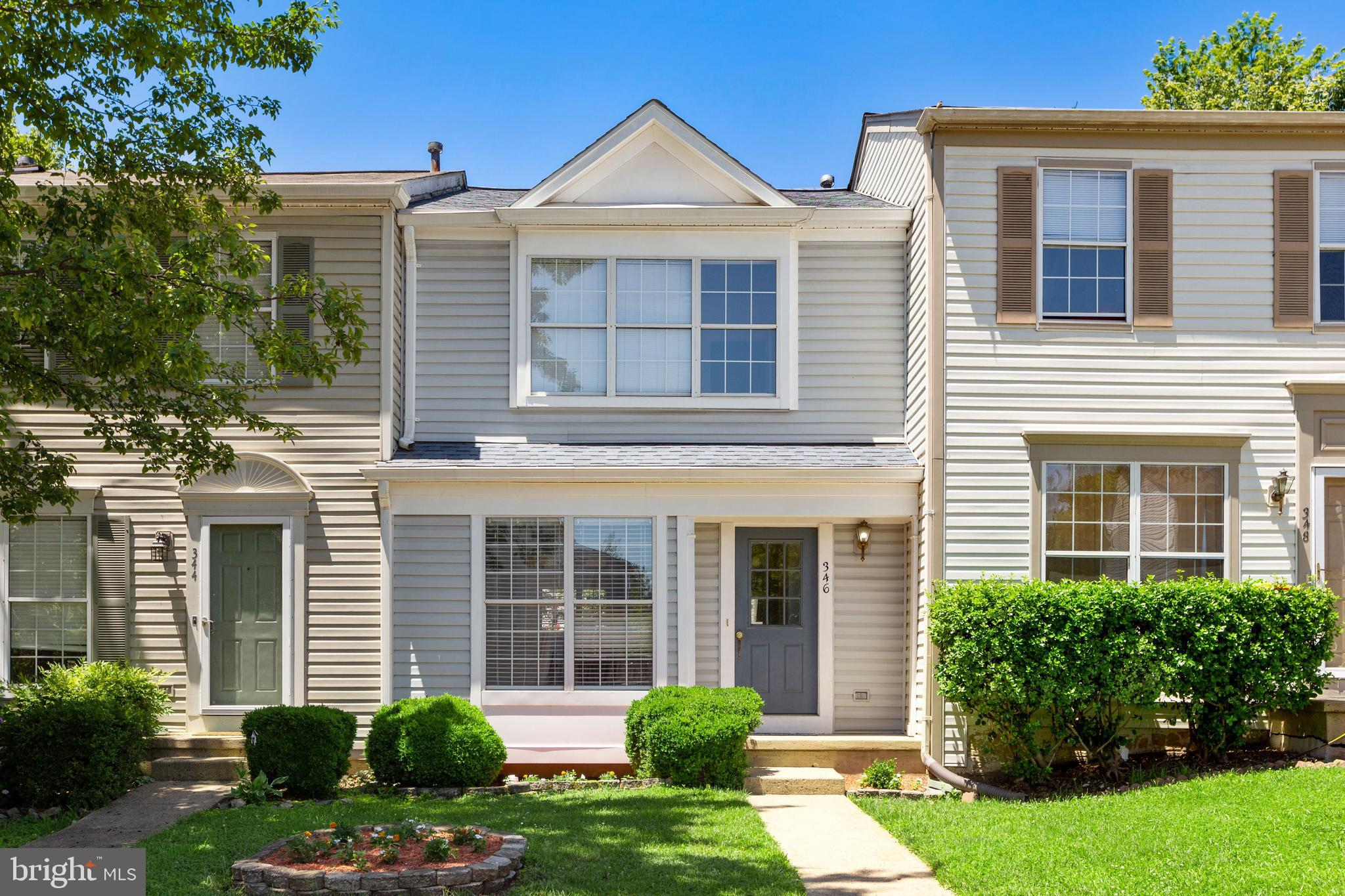 Wonderfully updated townhome in the commuter friendly, sought out neighborhood at Exeter.  This is h