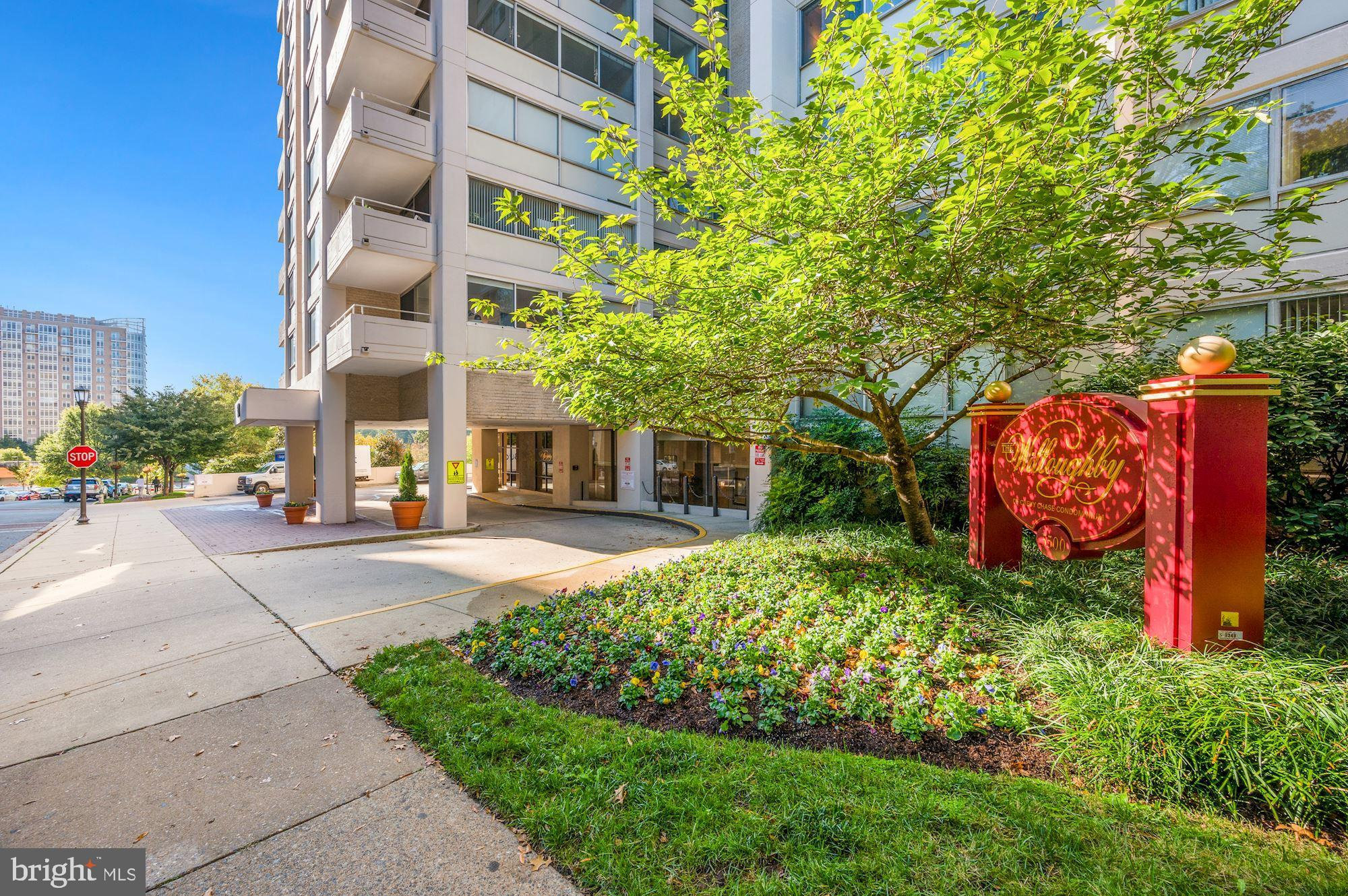 The perfect pied a terre in Friendship Heights.  The unit features an updated full bath and 3 large