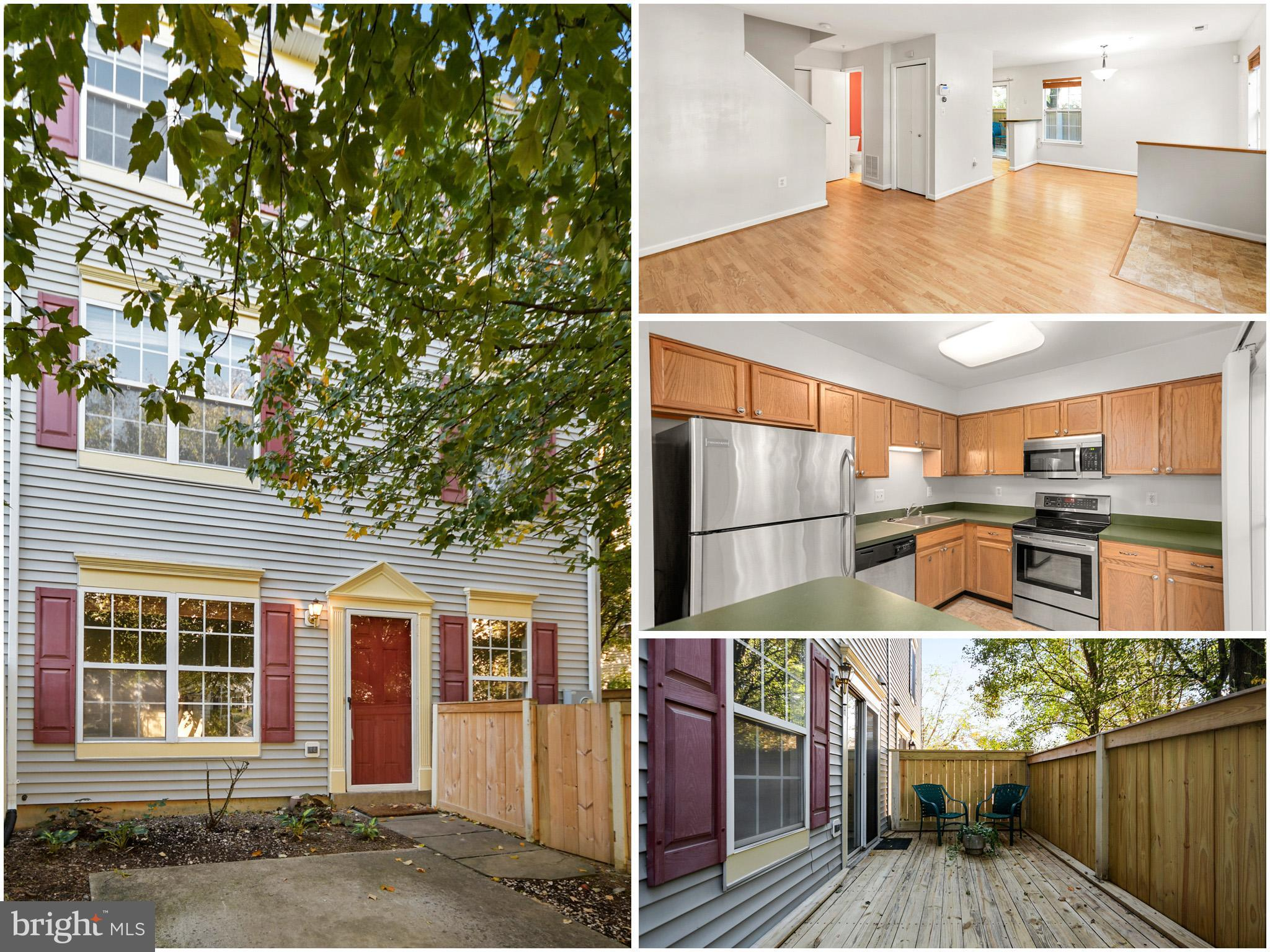 ***OPEN HOUSE, Sat. 10/23 1-3 pm & Sun. 10/24  1-3 pm!***  This end unit townhouse is both affordabl