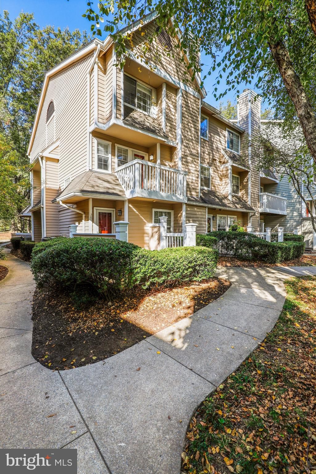 Welcome to The Gables on Tuckerman! A rarely available, completely renovated two-level end unit.  Pe