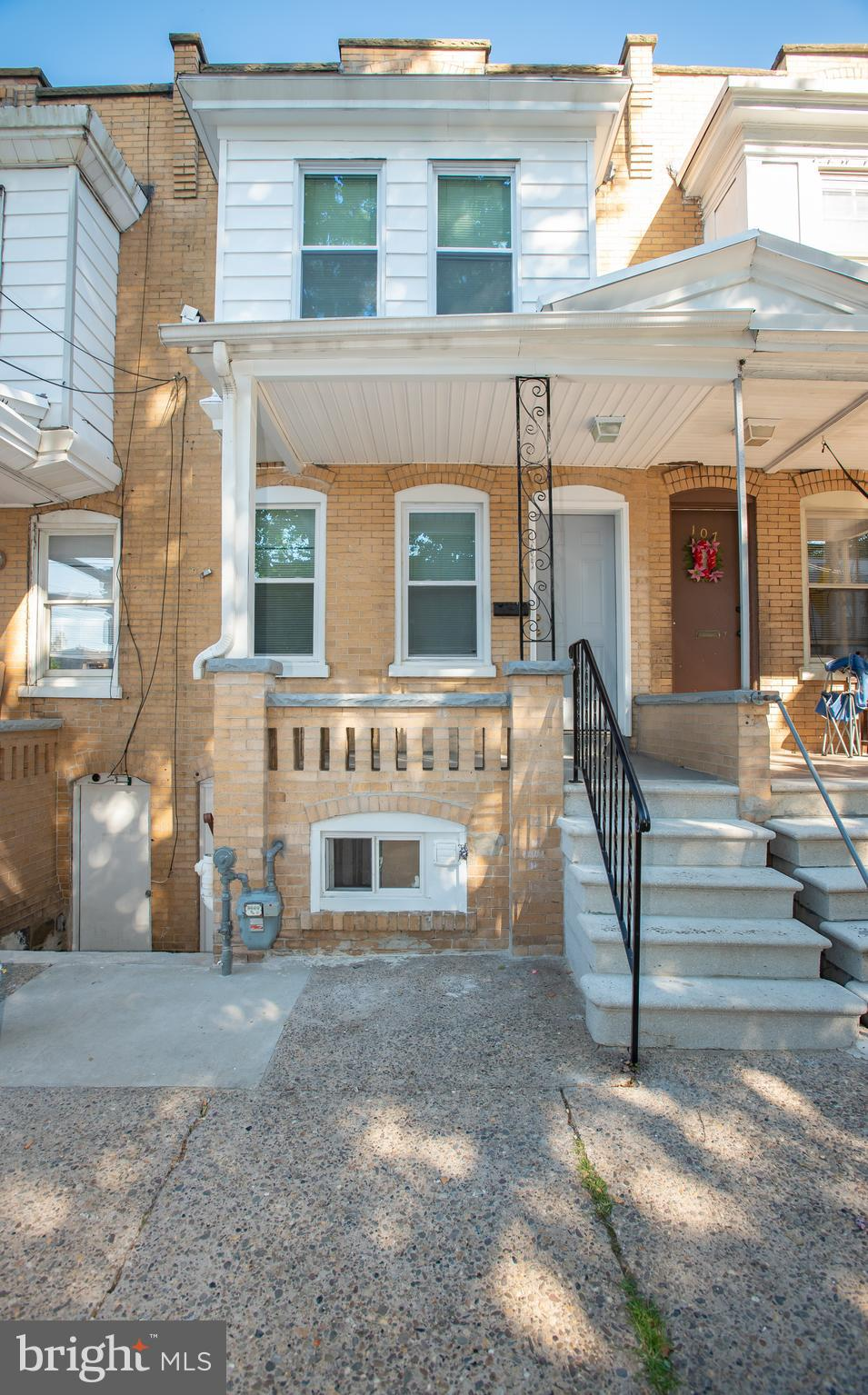 Newly renovated home in the city of Wilmington!  This house features a lovely covered front porch, s